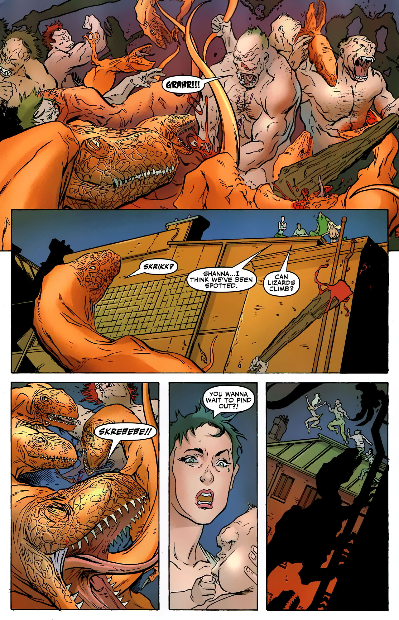 Read online Shanna the She-Devil: Survival of the Fittest comic -  Issue #3 - 17