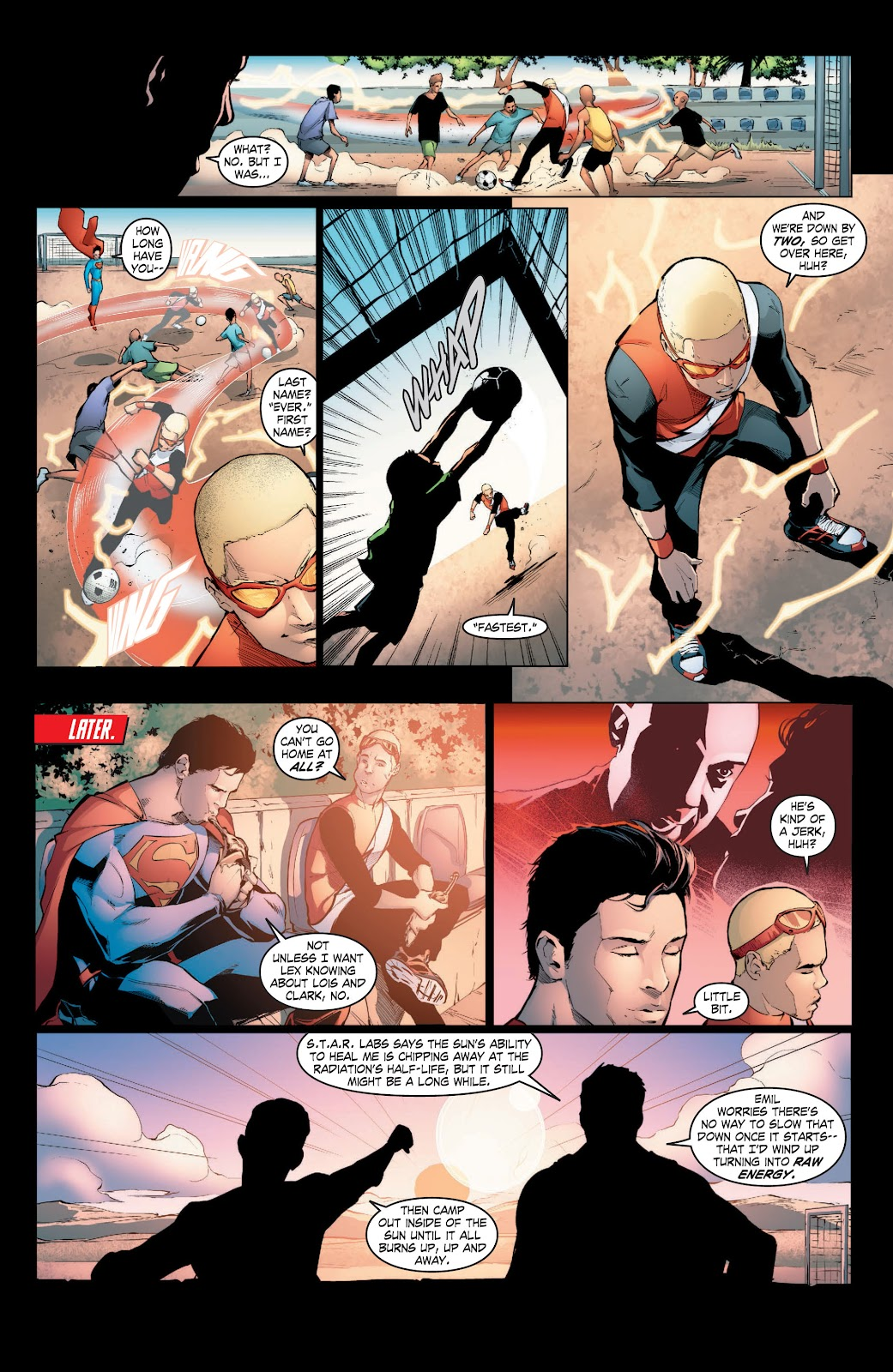 Read online Smallville Season 11 [II] comic -  Issue # TPB 3 - 23