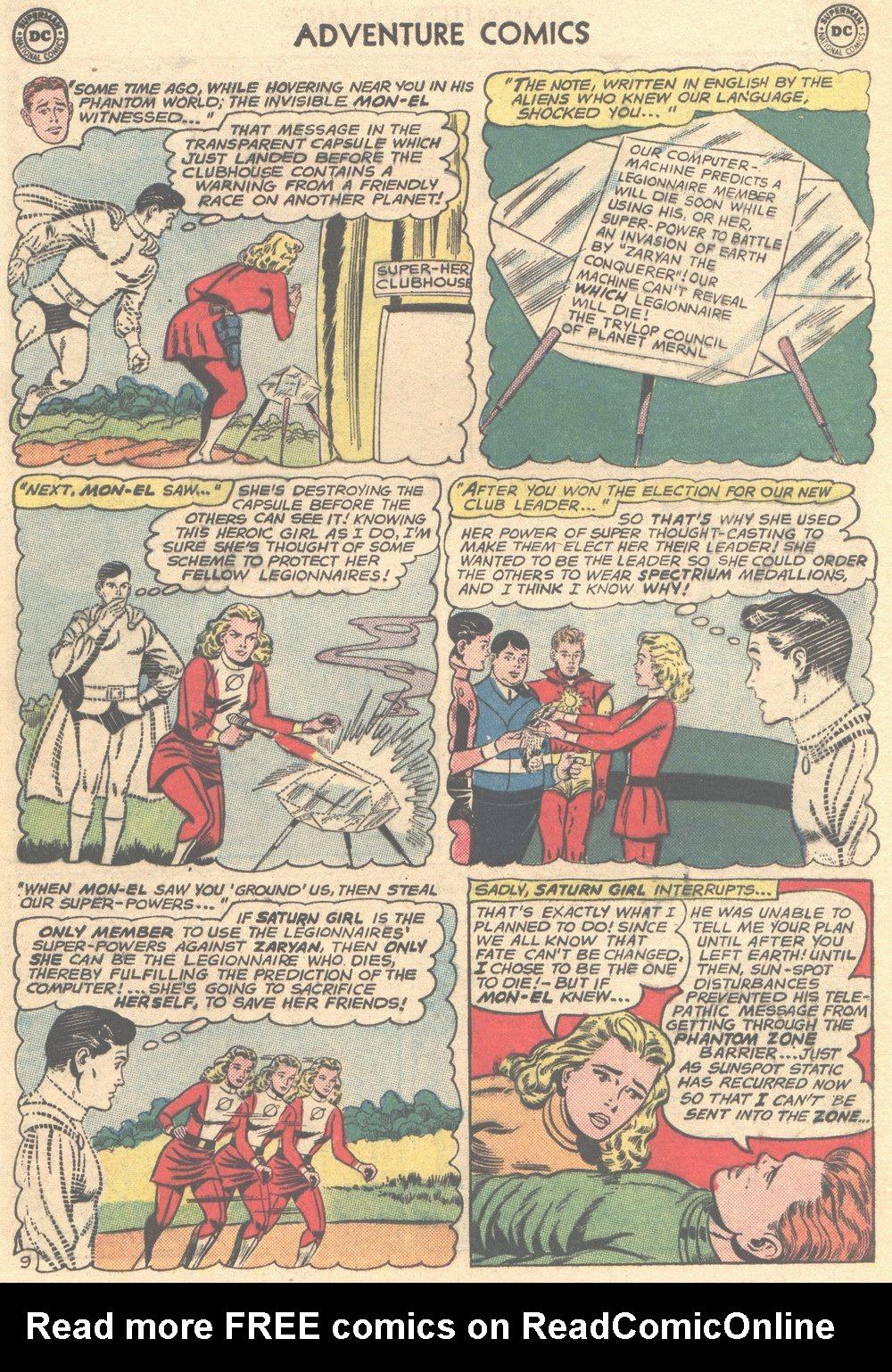 Read online Adventure Comics (1938) comic -  Issue #304 - 29