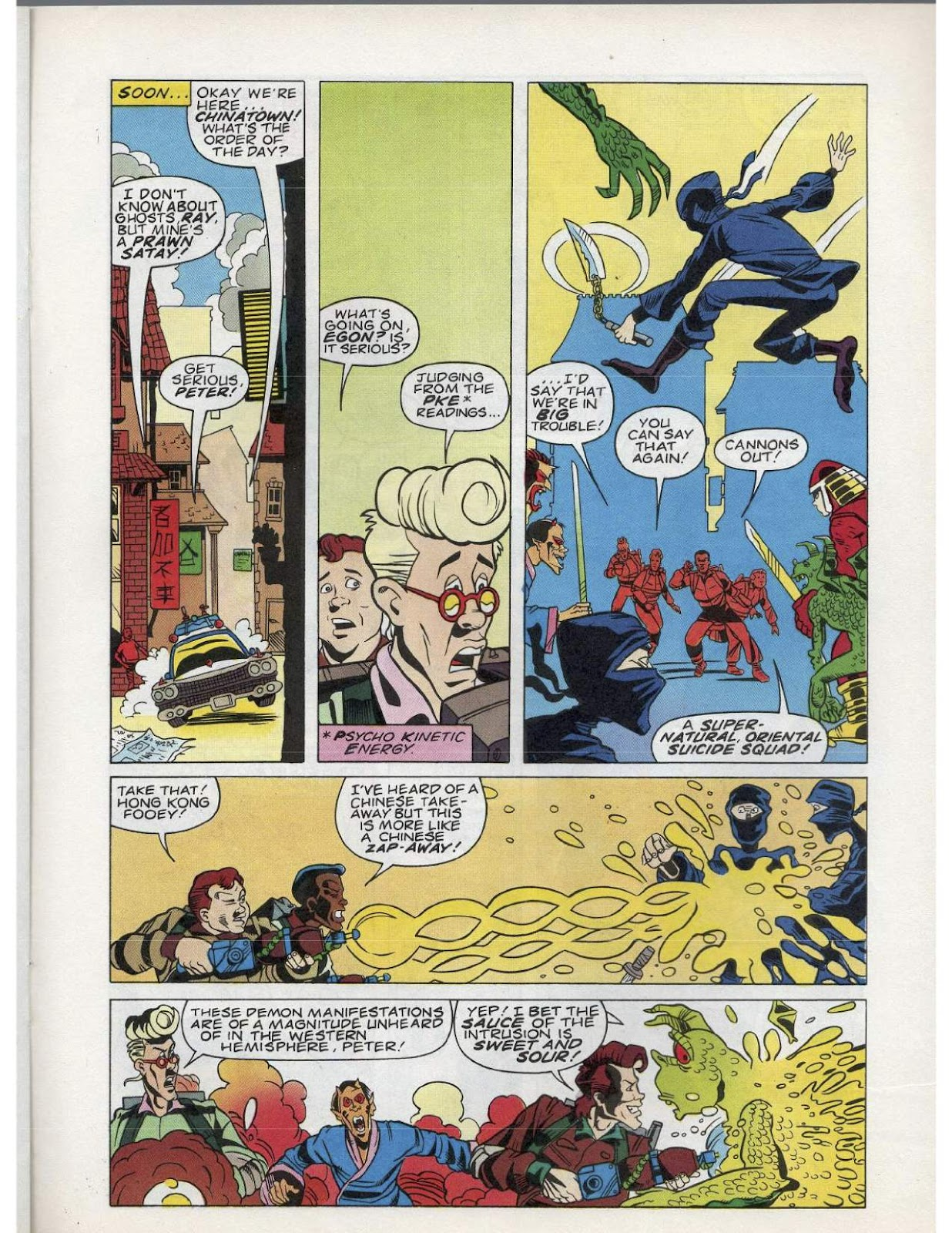 The Real Ghostbusters Issue #193 #167 - English 16