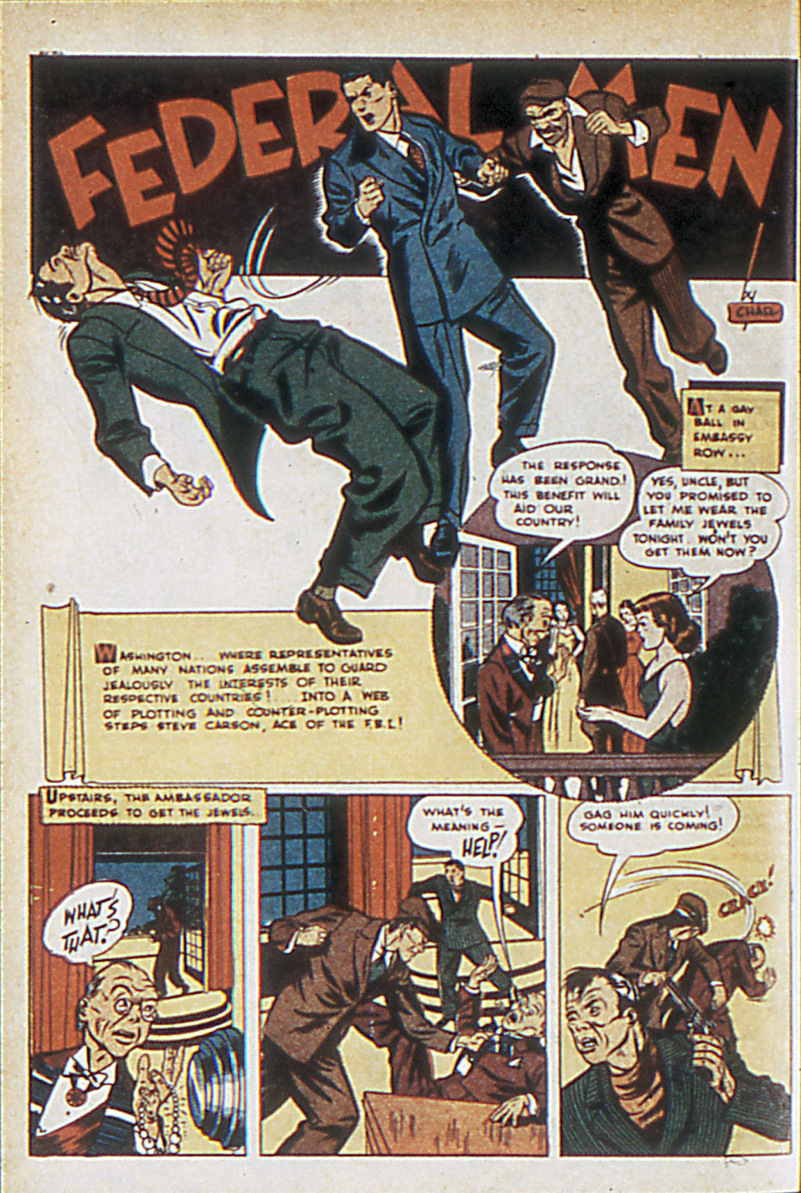 Read online Adventure Comics (1938) comic -  Issue #63 - 19
