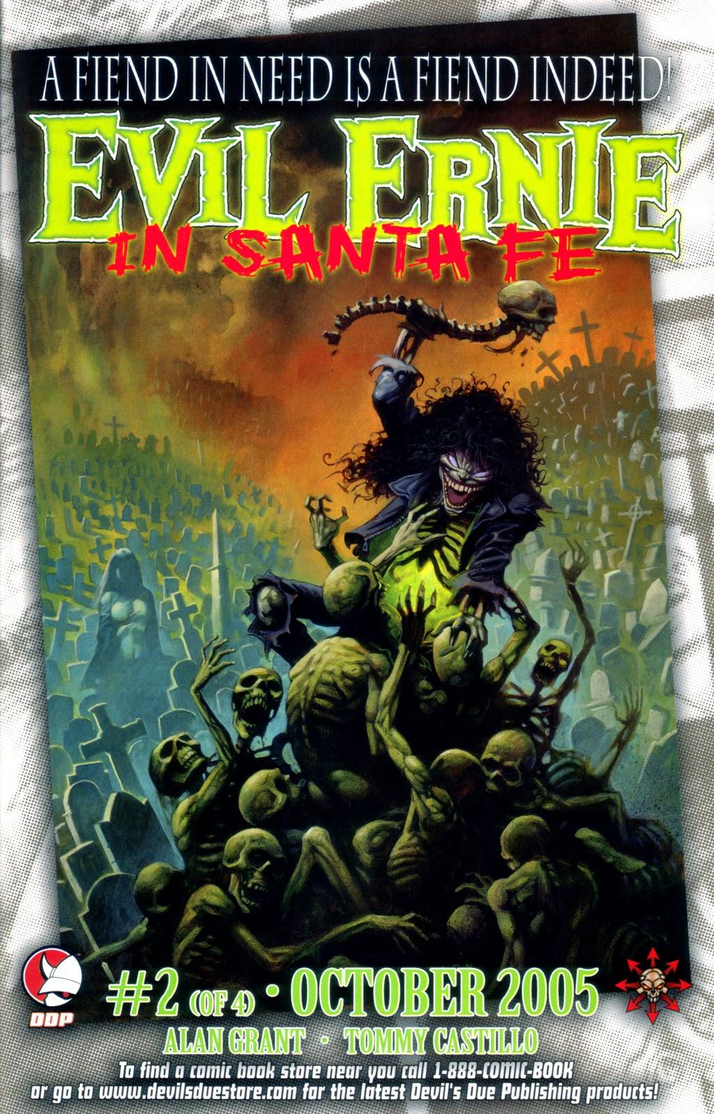 Read online Evil Ernie in Santa Fe comic -  Issue #1 - 24