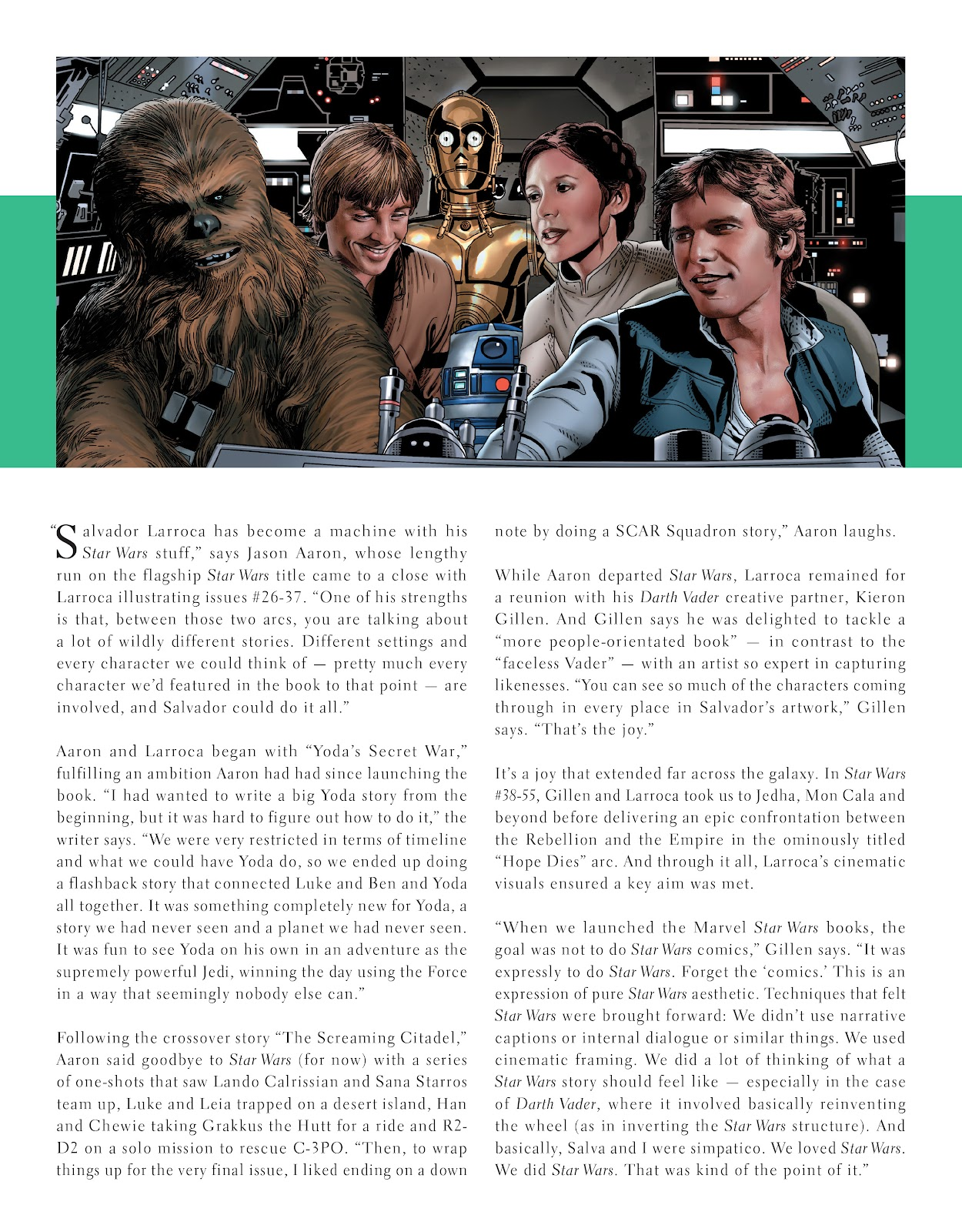 Read online The Marvel Art of Star Wars comic -  Issue # TPB (Part 2) - 8