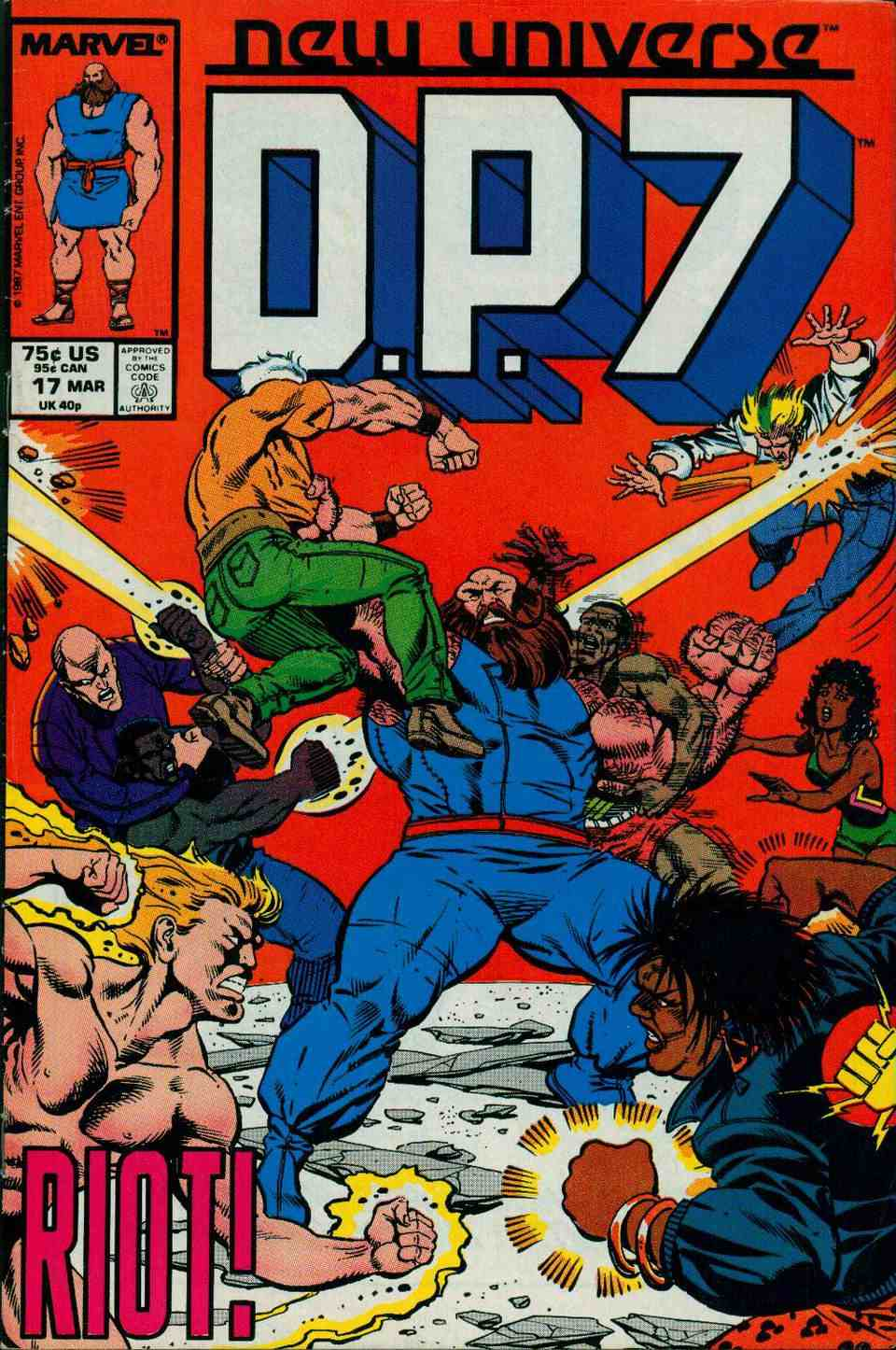 Read online DP7 comic -  Issue #17 - 1