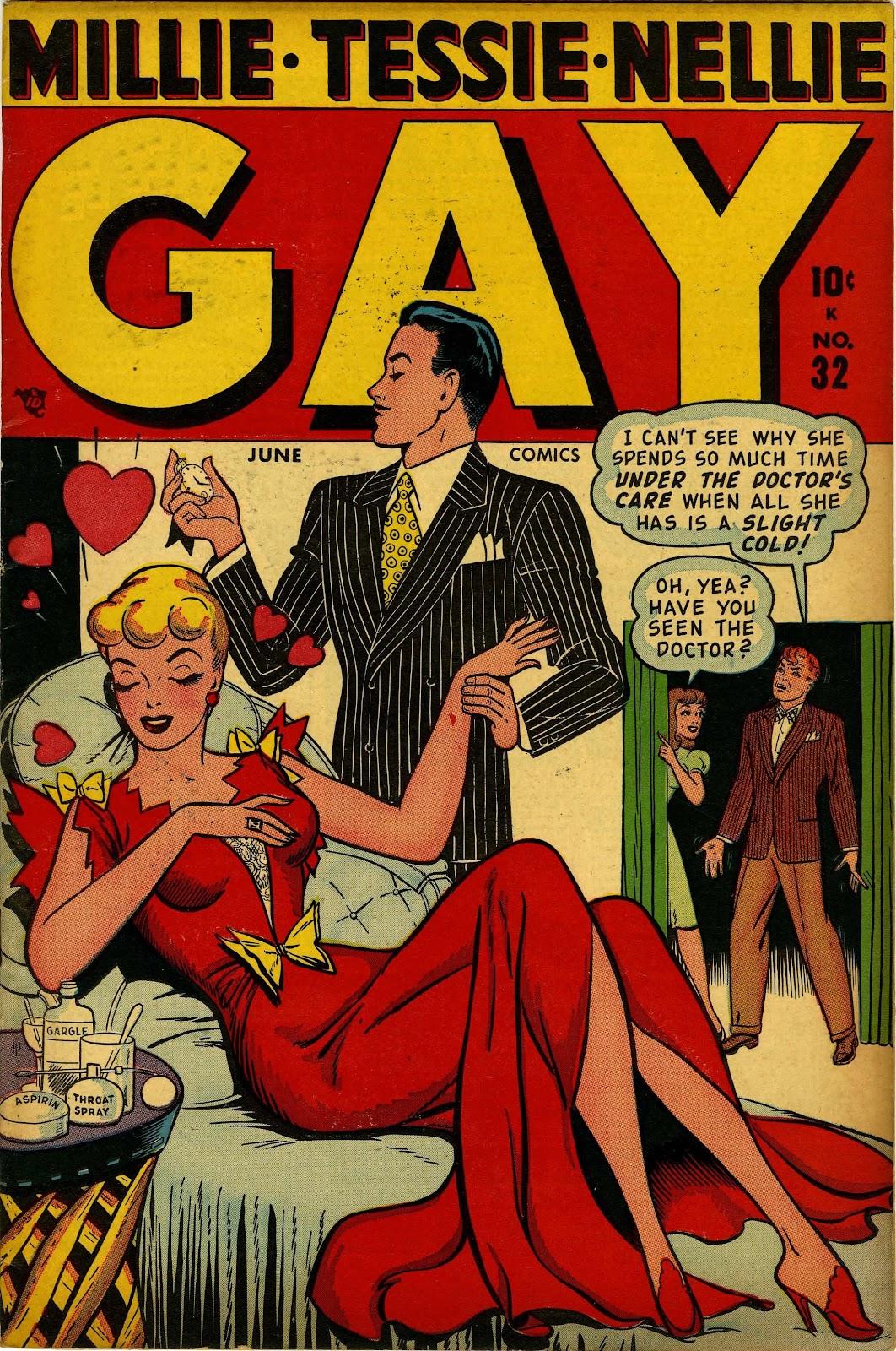 Gay Comics 32 Page 1