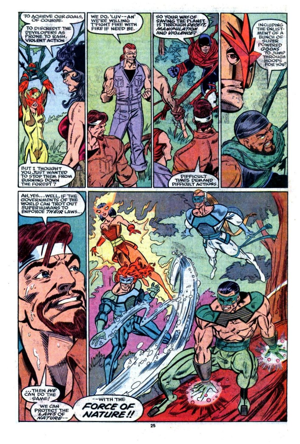 The New Warriors Issue #8 #12 - English 21