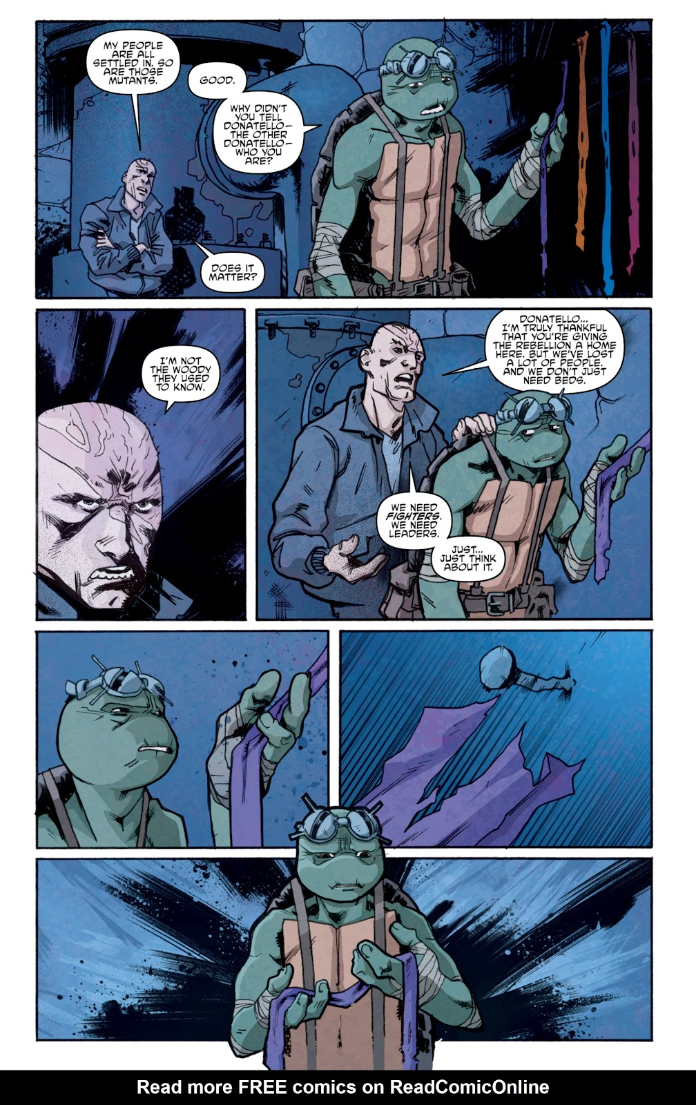 Read online Teenage Mutant Ninja Turtles: The IDW Collection comic -  Issue # TPB 5 (Part 1) - 94