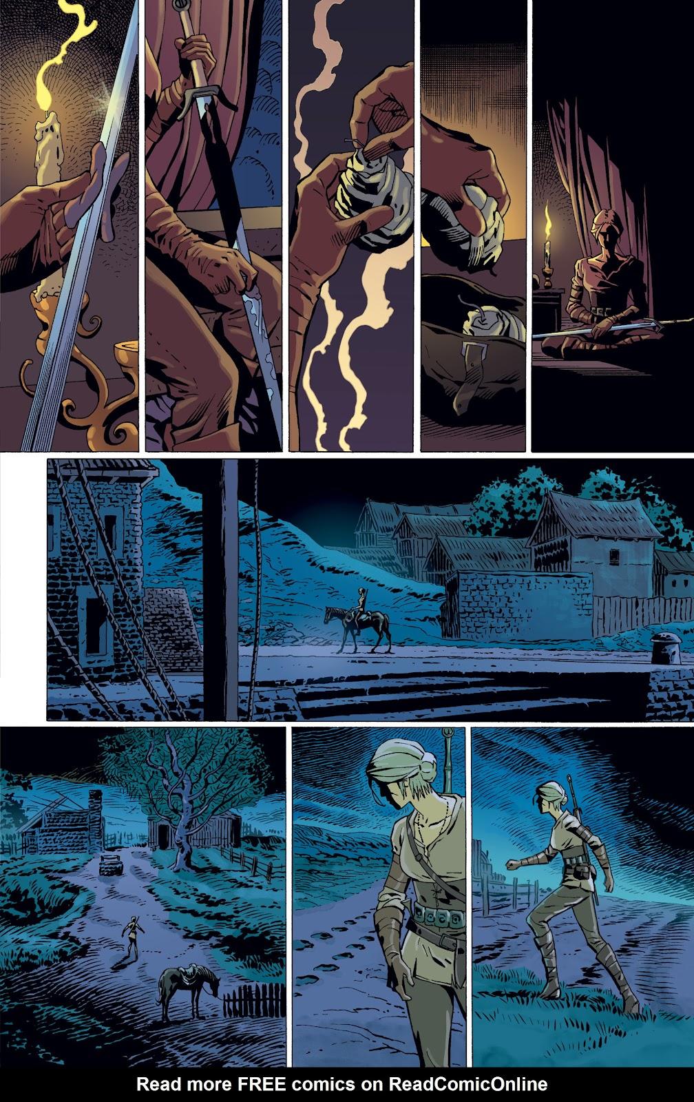 Read online The Witcher Omnibus comic -  Issue # TPB (Part 4) - 88