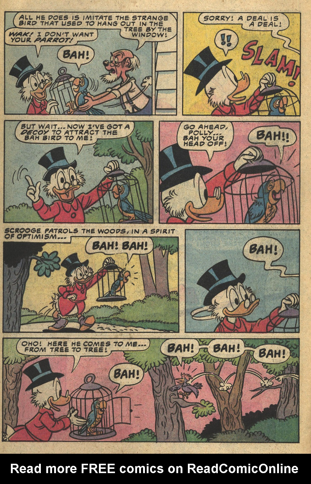 Read online Uncle Scrooge (1953) comic -  Issue #193 - 32