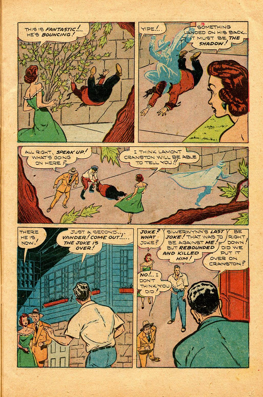 Read online Shadow Comics comic -  Issue #94 - 13