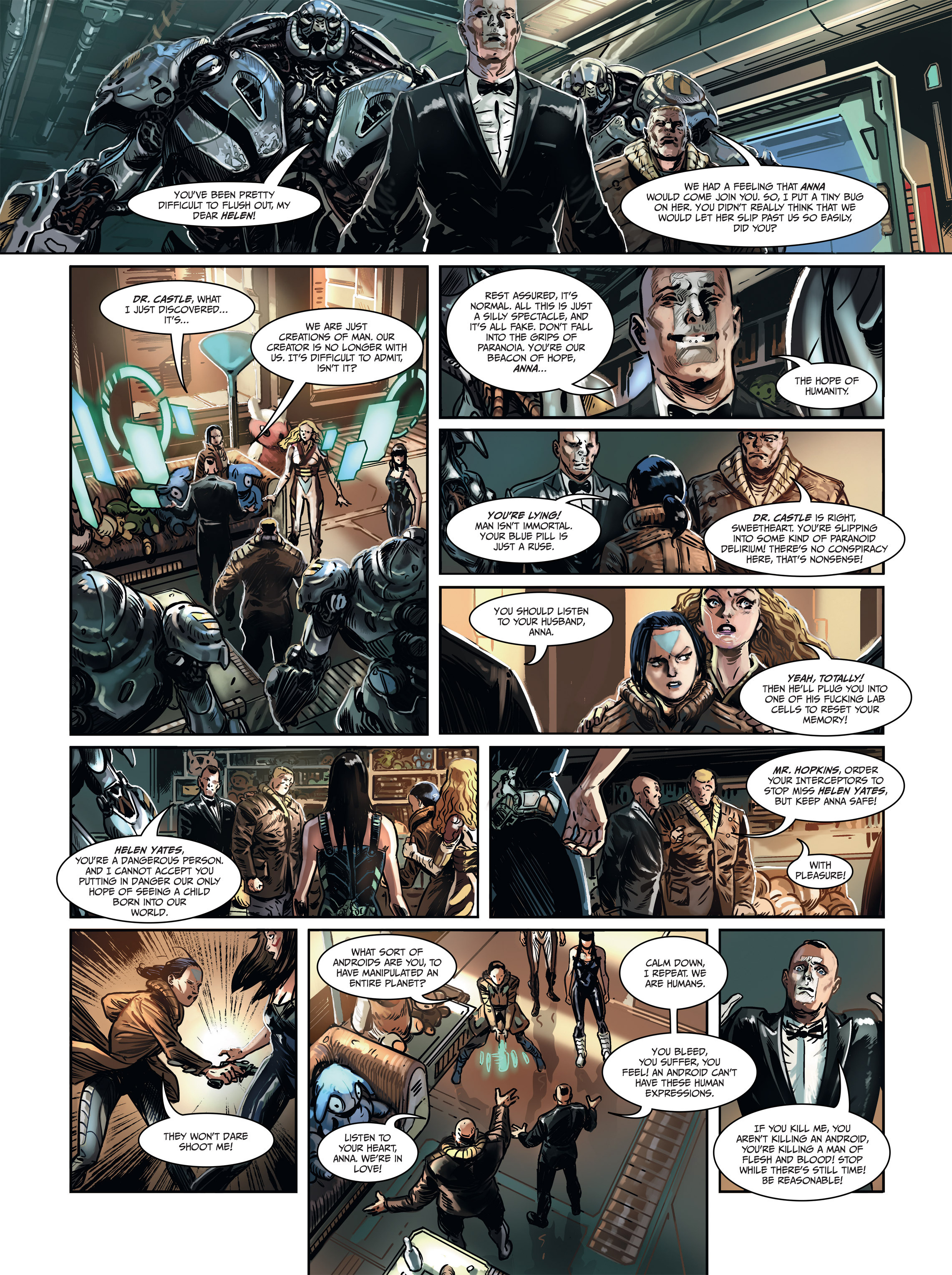 Read online Androïds comic -  Issue #1 - 54