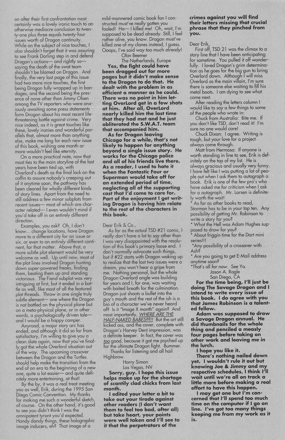 The Savage Dragon (1993) Issue #22 #25 - English 29