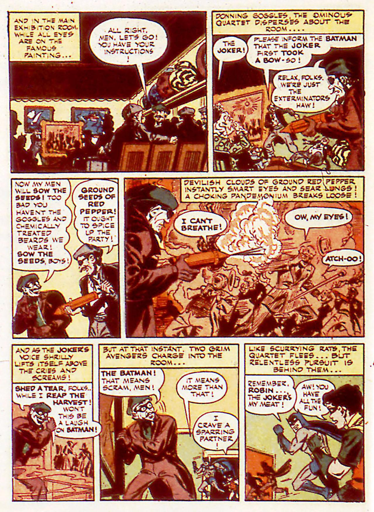 Read online Detective Comics (1937) comic -  Issue #71 - 8