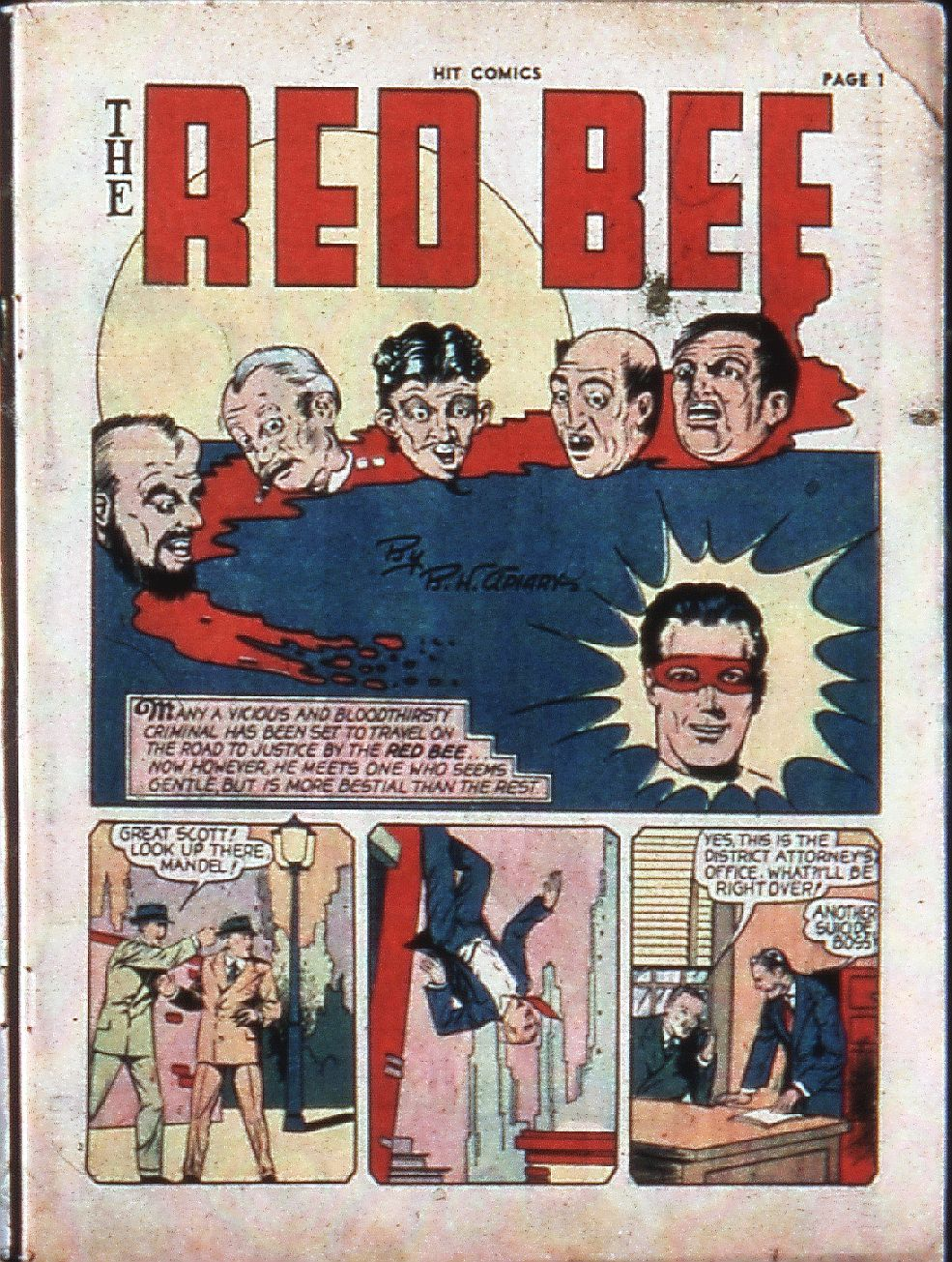 Read online Hit Comics comic -  Issue #4 - 3