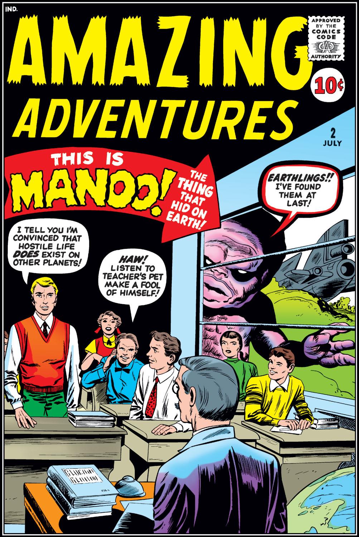 Amazing Adventures (1961) 2 Page 1