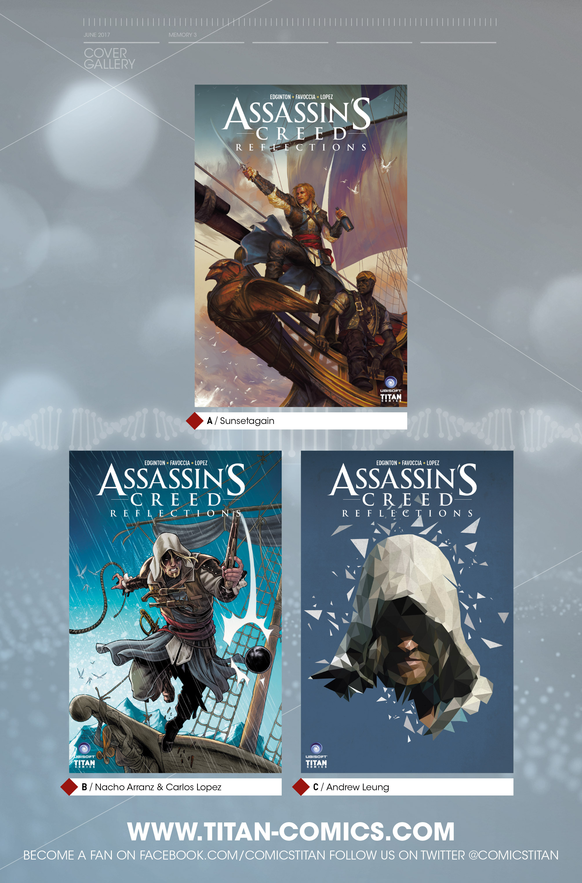 Read online Assassin's Creed: Reflections comic -  Issue #3 - 25