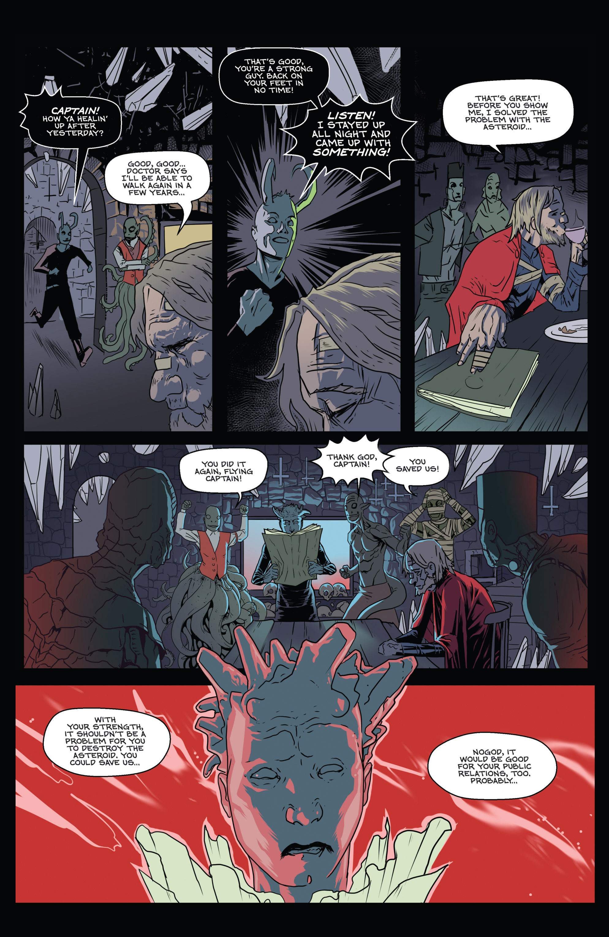 Read online Amazing Forest (2016) comic -  Issue #5 - 8