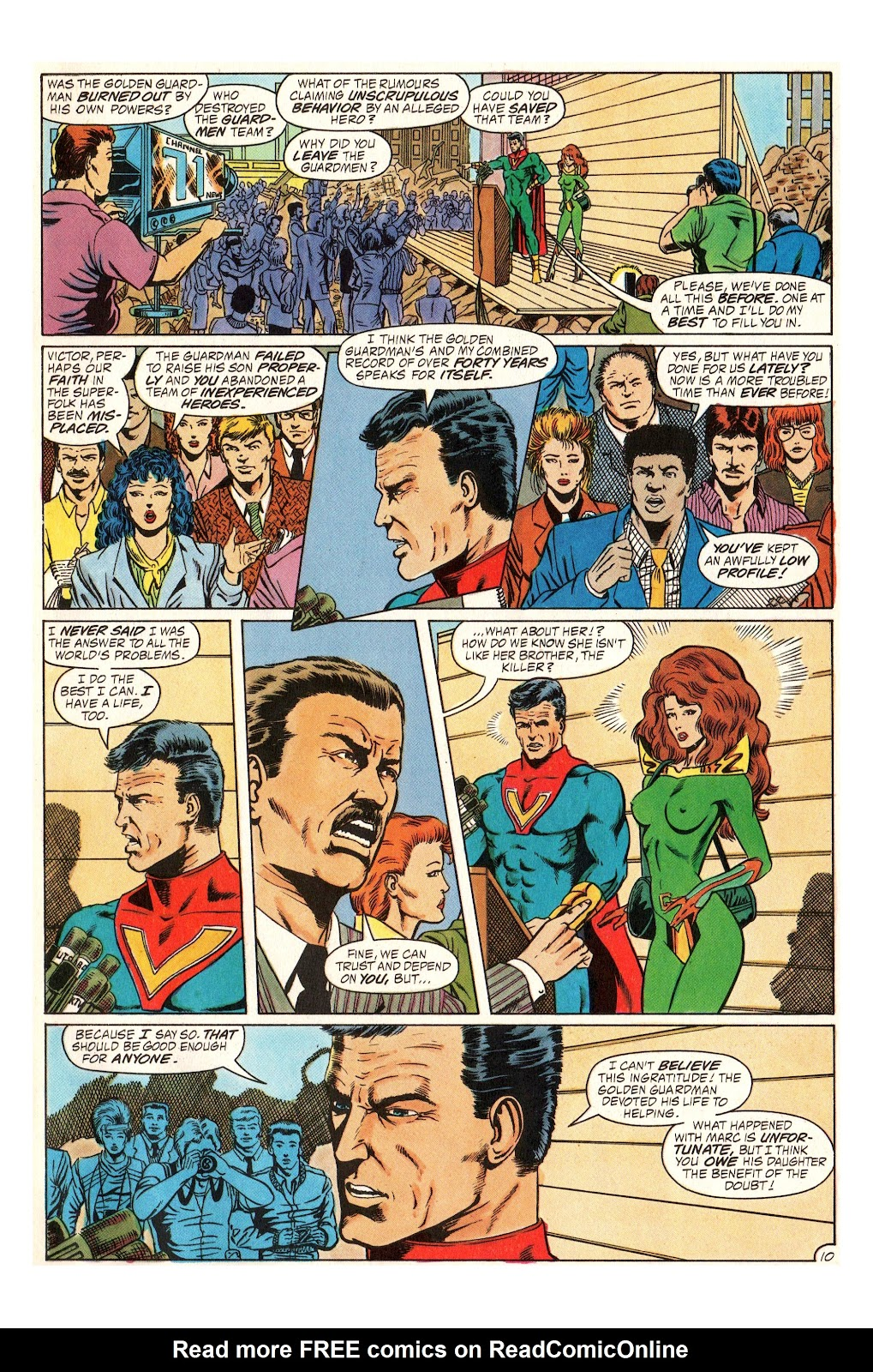 Read online Hero Alliance: End of Golden Age comic -  Issue #3 - 13