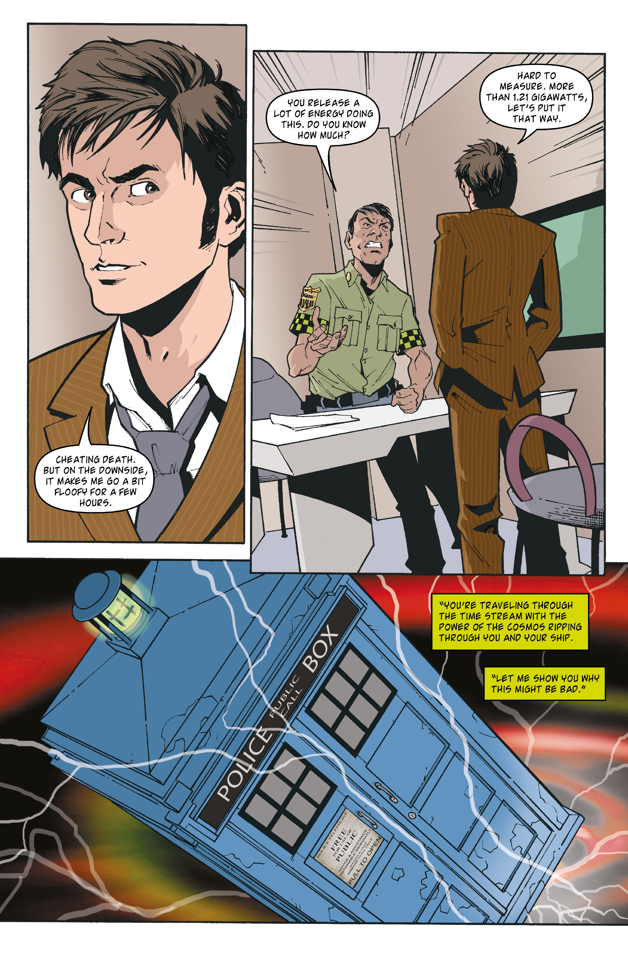 Read online Doctor Who: The Tenth Doctor Archives comic -  Issue #35 - 16