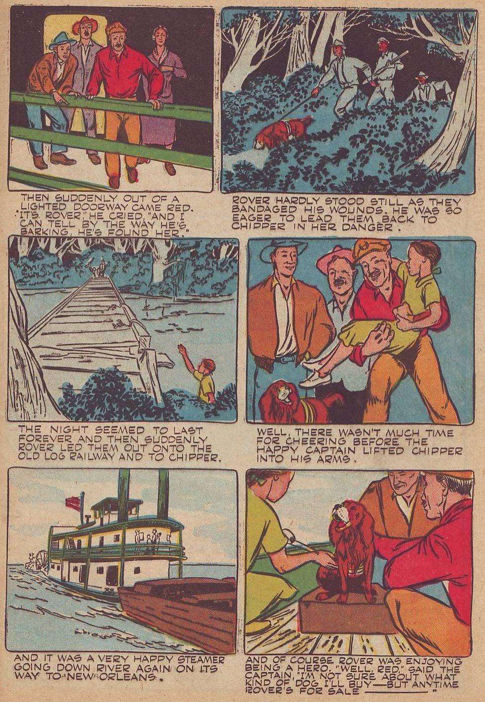 Read online Animal Comics comic -  Issue #23 - 37