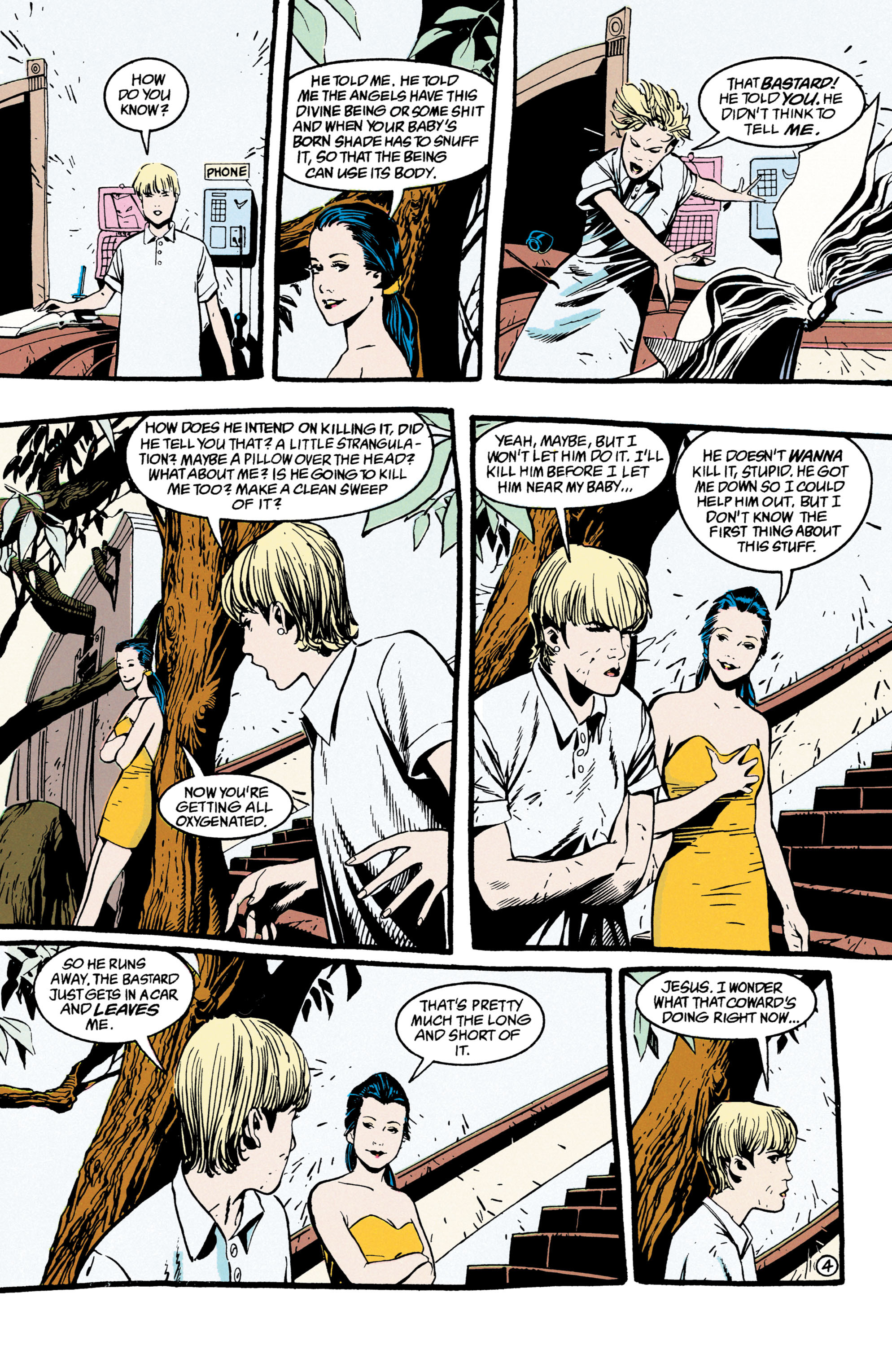 Read online Shade, the Changing Man comic -  Issue #47 - 5