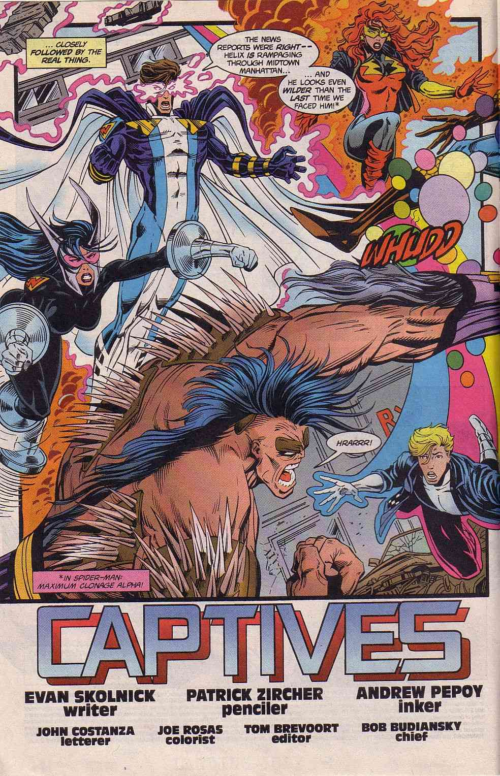 The New Warriors Issue #62 #66 - English 3