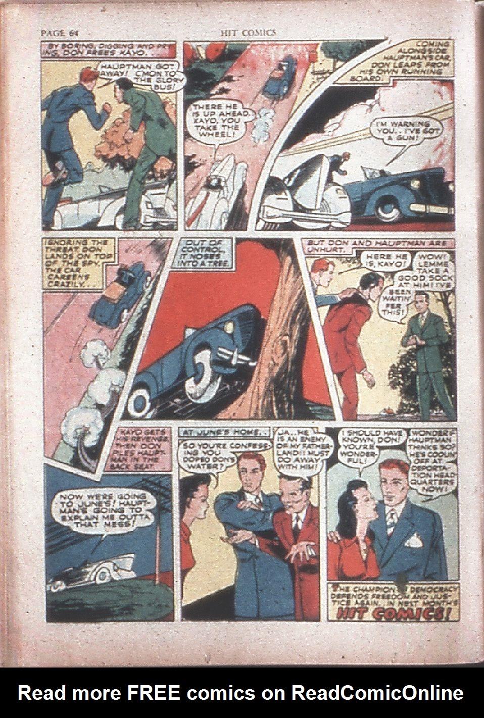 Read online Hit Comics comic -  Issue #15 - 66