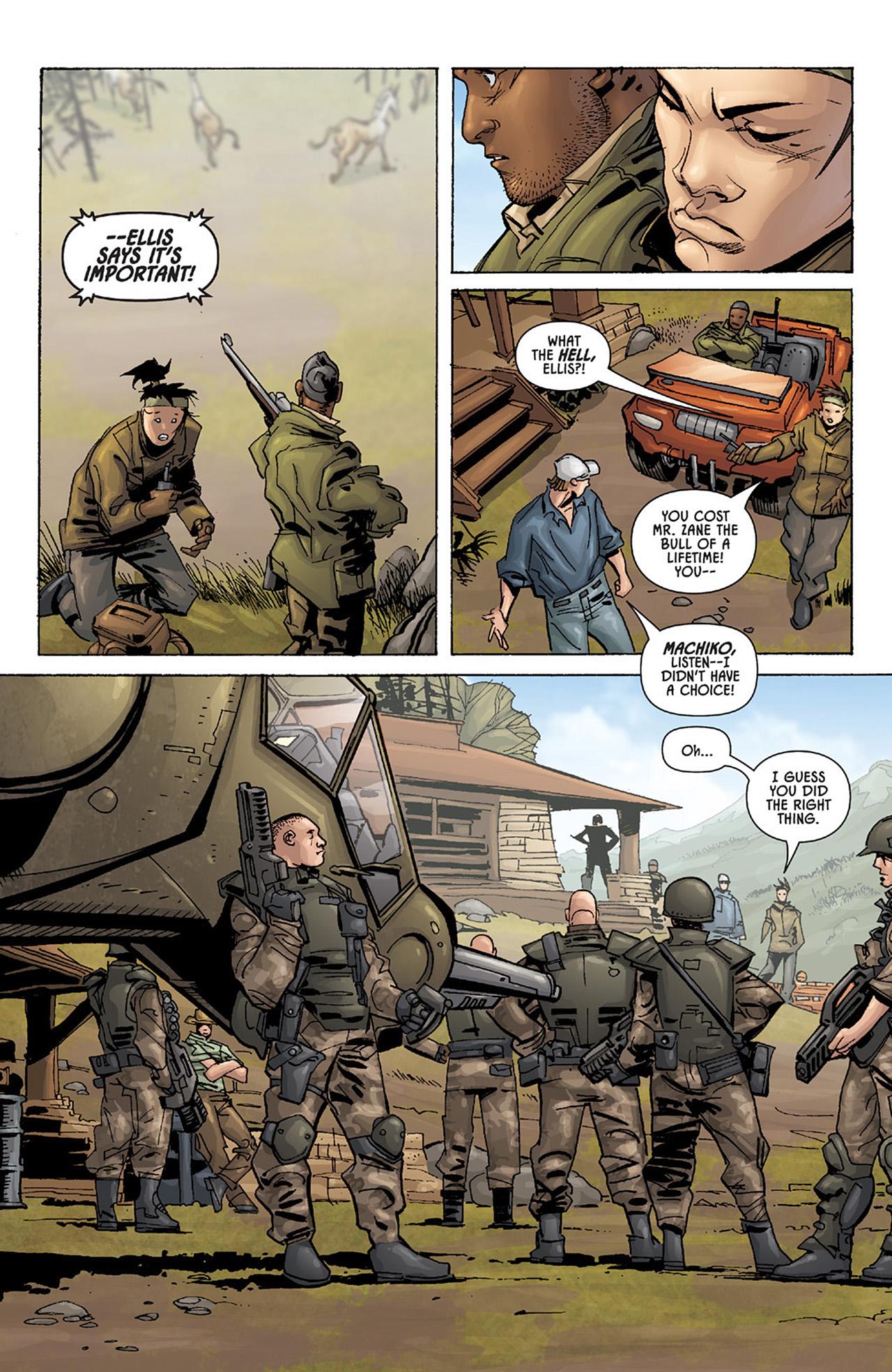 Read online Aliens vs. Predator: Three World War comic -  Issue #1 - 15