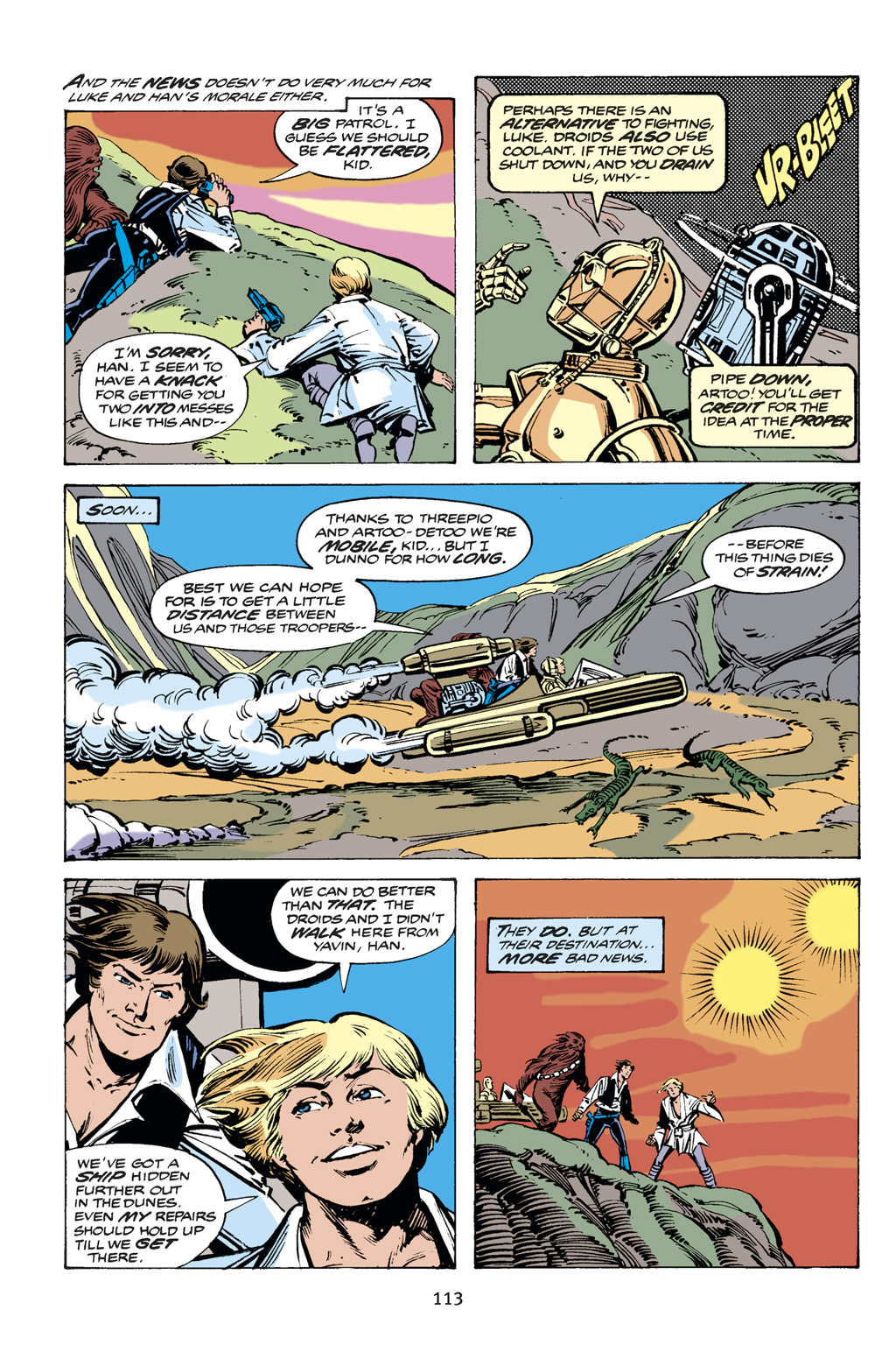 Read online Star Wars Omnibus comic -  Issue # Vol. 14 - 113