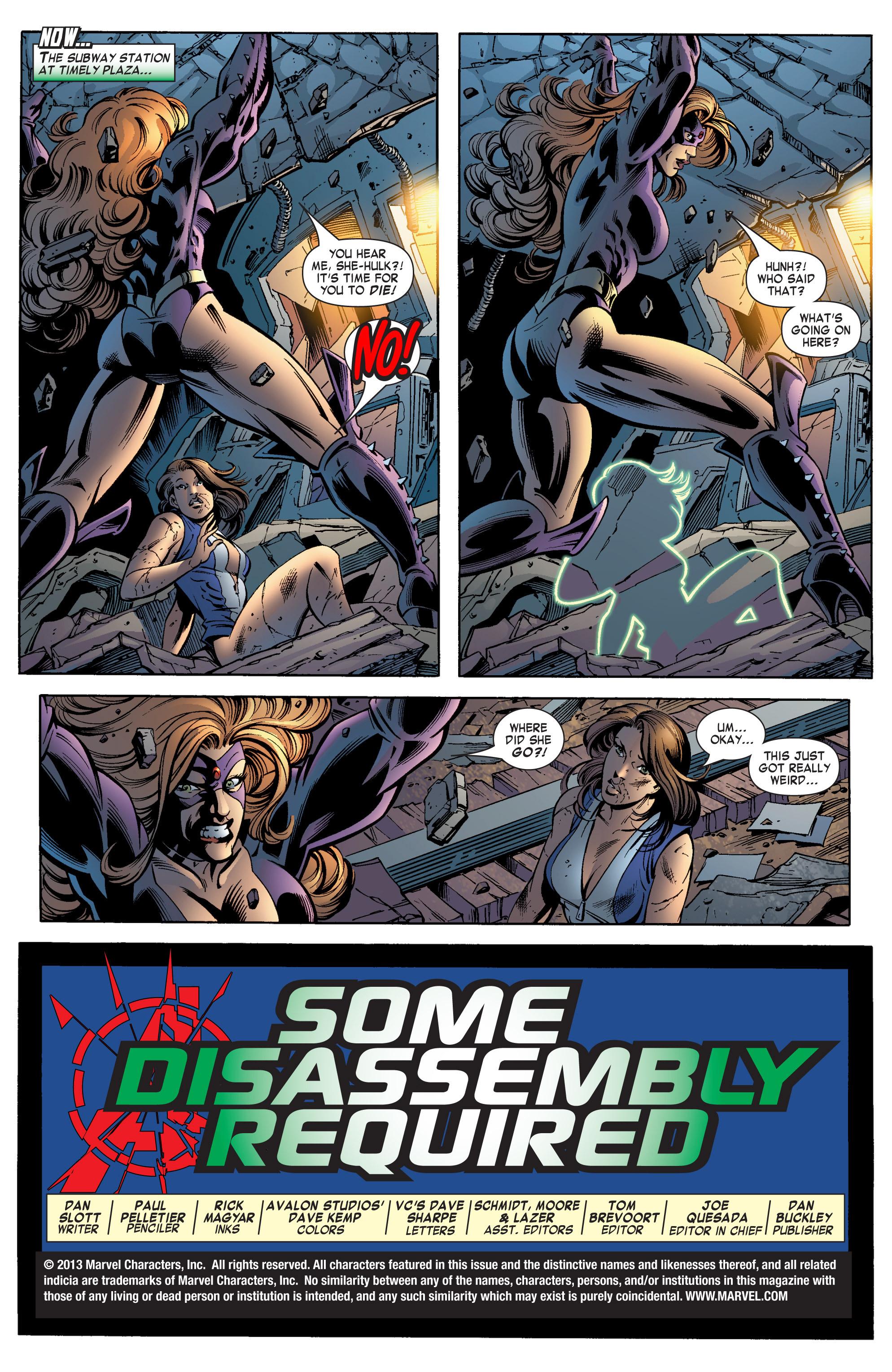 Read online She-Hulk (2004) comic -  Issue #12 - 4