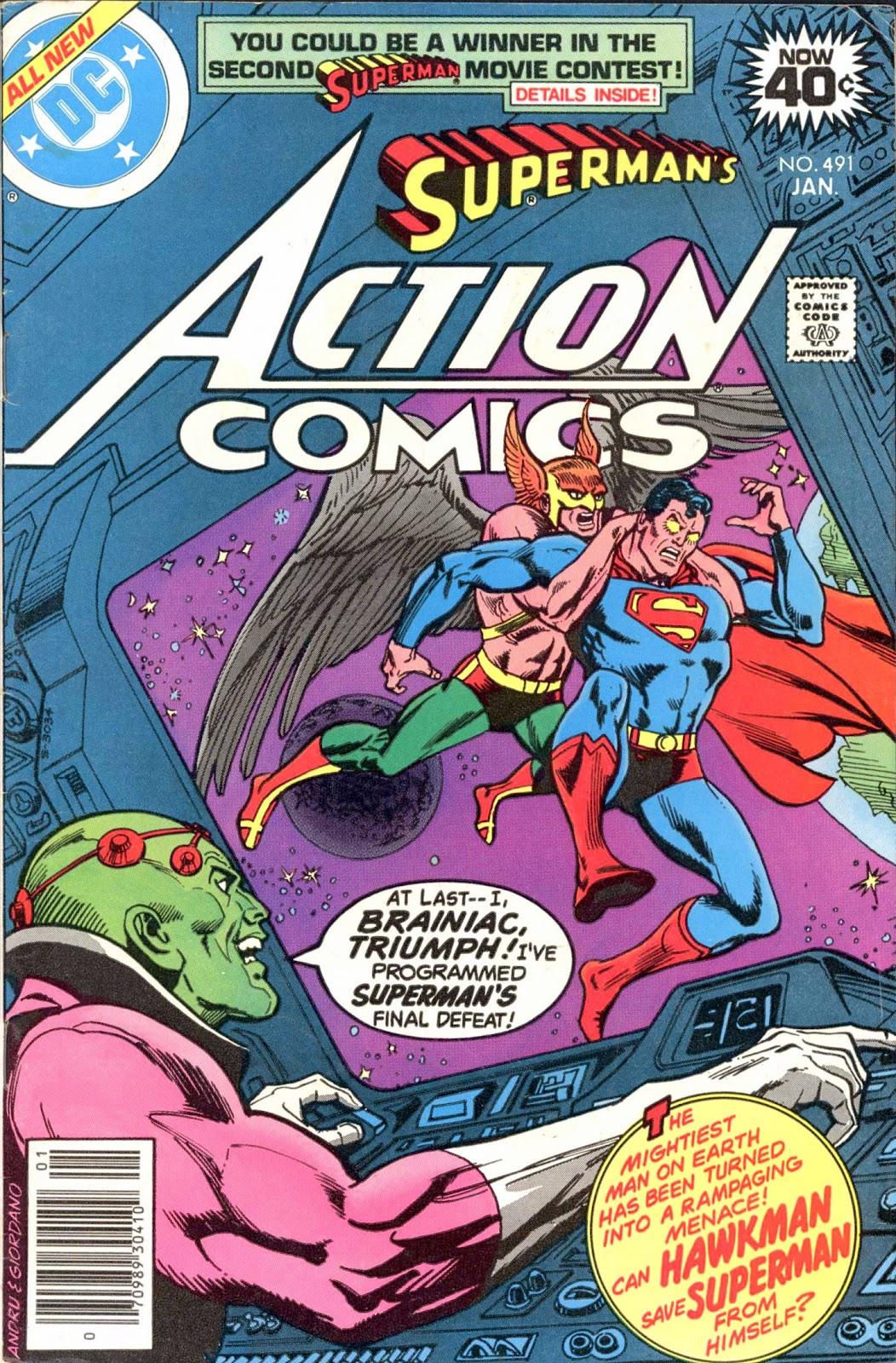 Action Comics (1938) 491 Page 1
