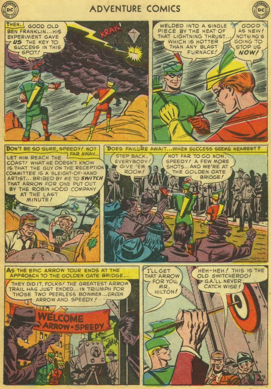 Read online Adventure Comics (1938) comic -  Issue #168 - 43