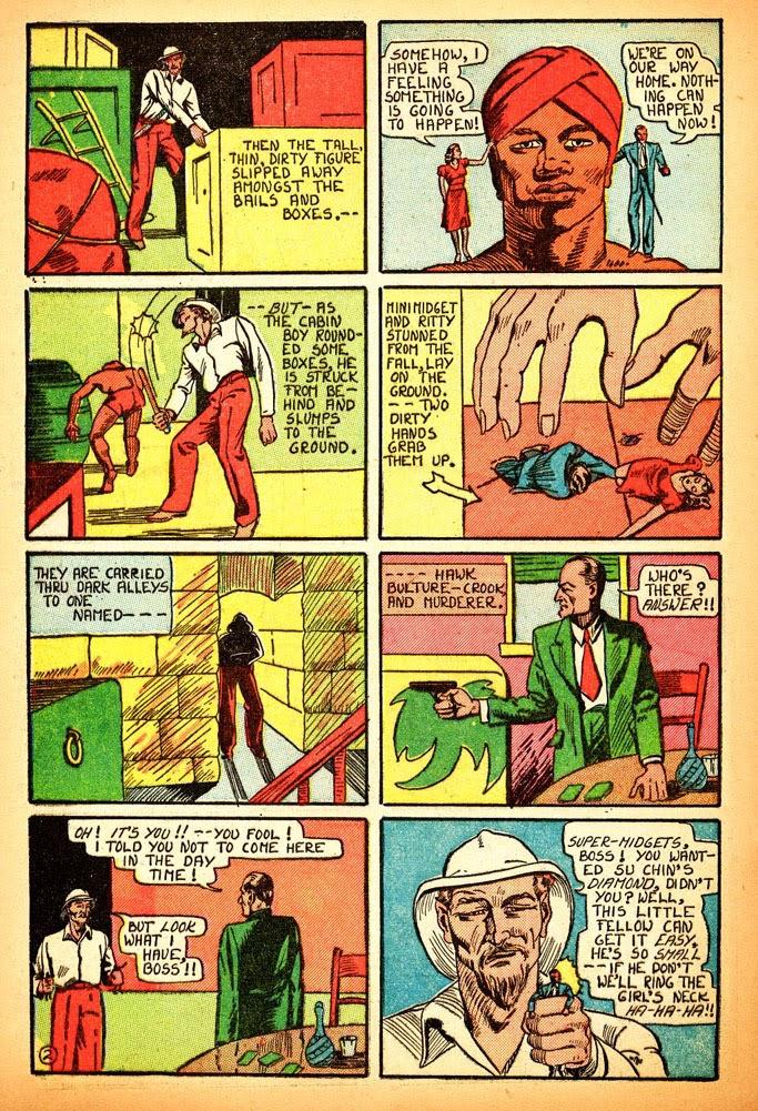 Read online Amazing Man Comics comic -  Issue #12 - 20