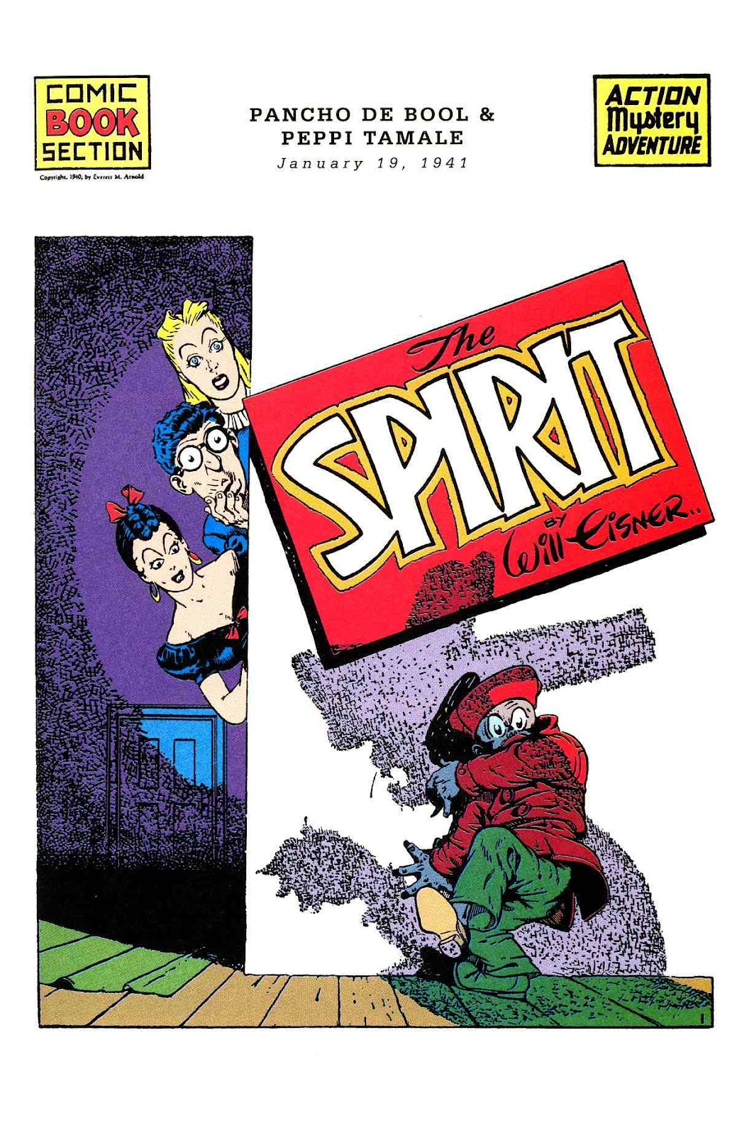 Read online Will Eisner's The Spirit Archives comic -  Issue # TPB 2 (Part 1) - 17