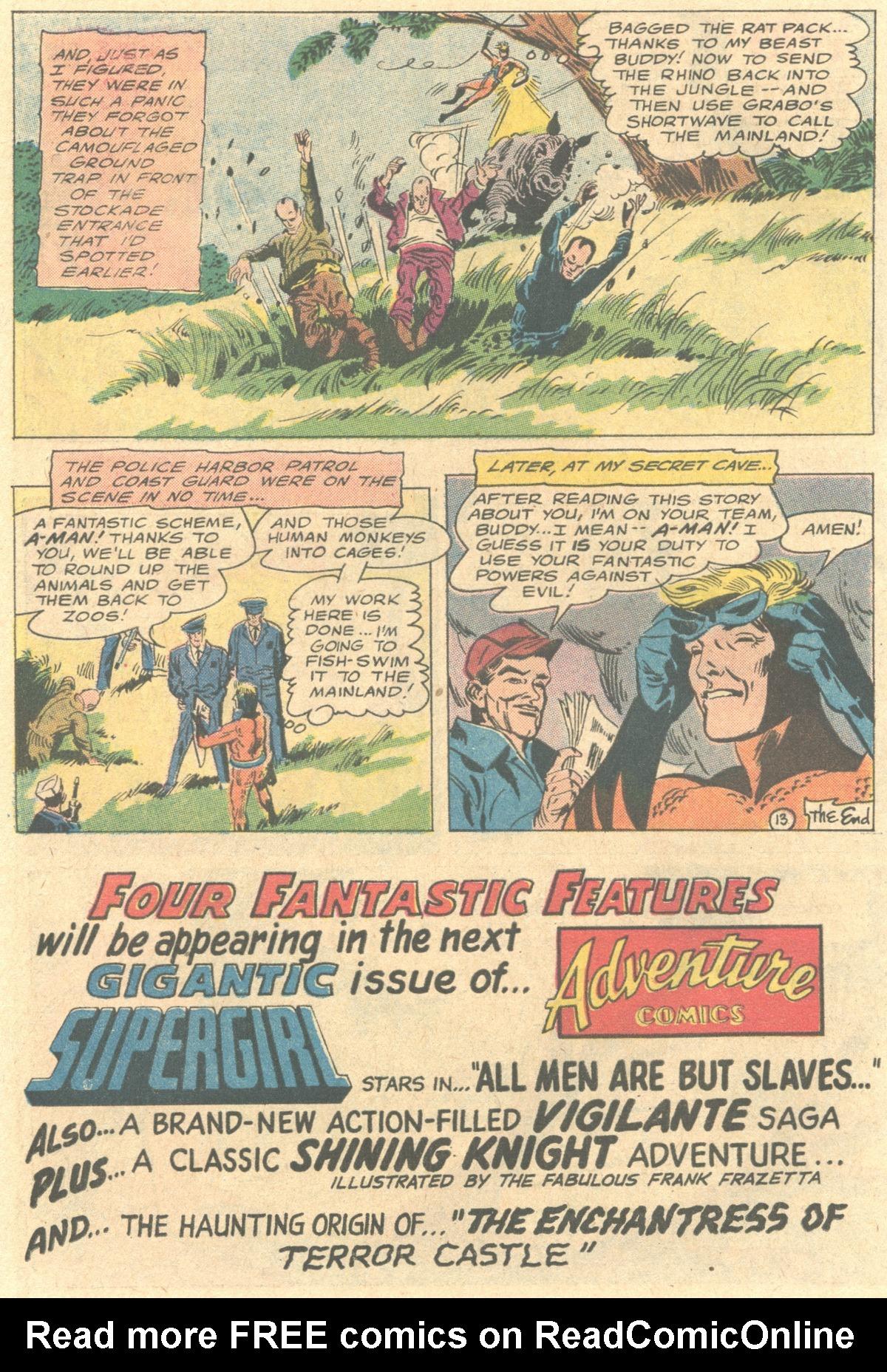 Read online Adventure Comics (1938) comic -  Issue #415 - 32