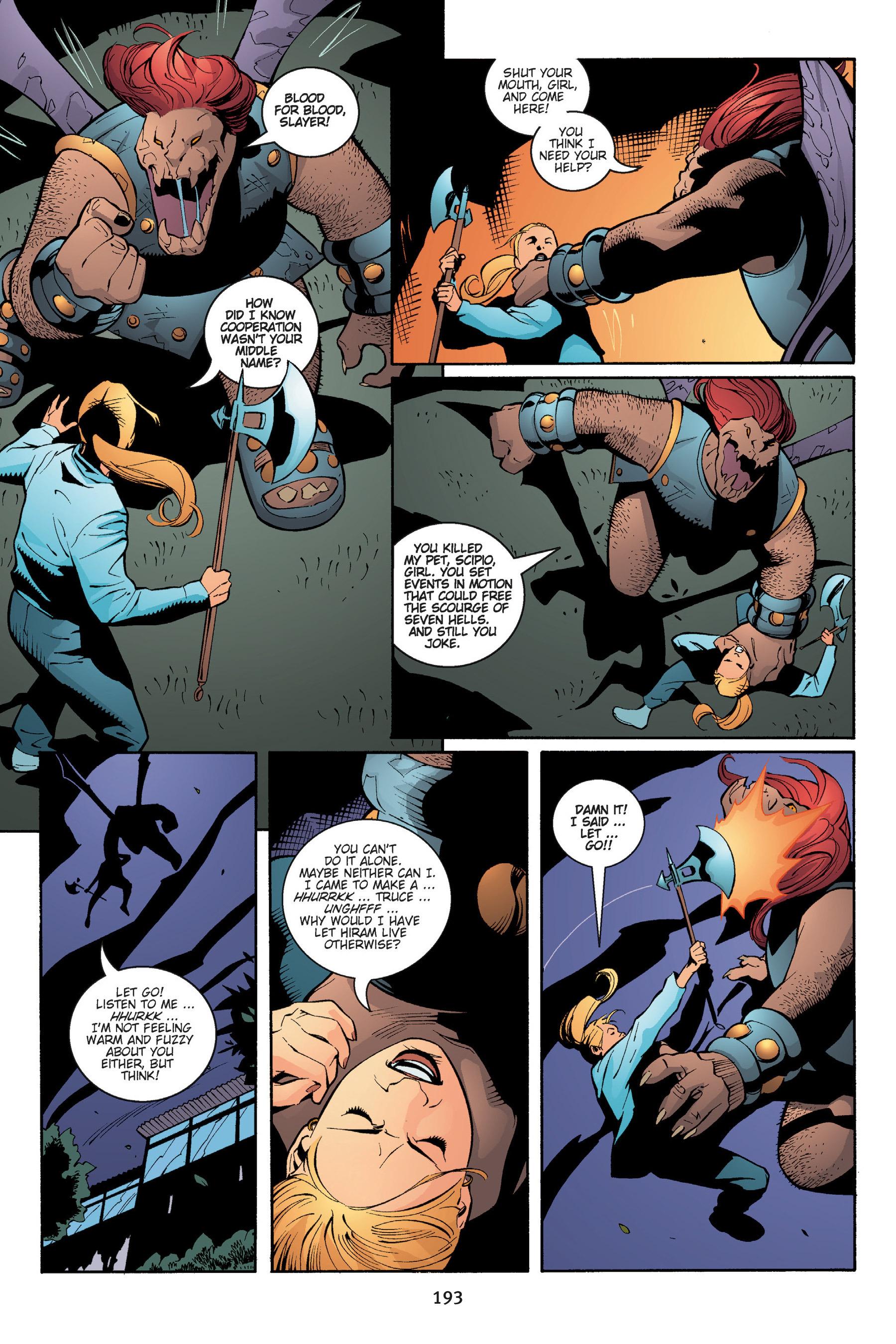 Read online Buffy the Vampire Slayer: Omnibus comic -  Issue # TPB 5 - 193