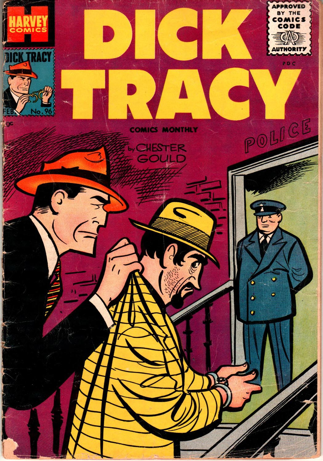 Dick Tracy (1950) 96 Page 1