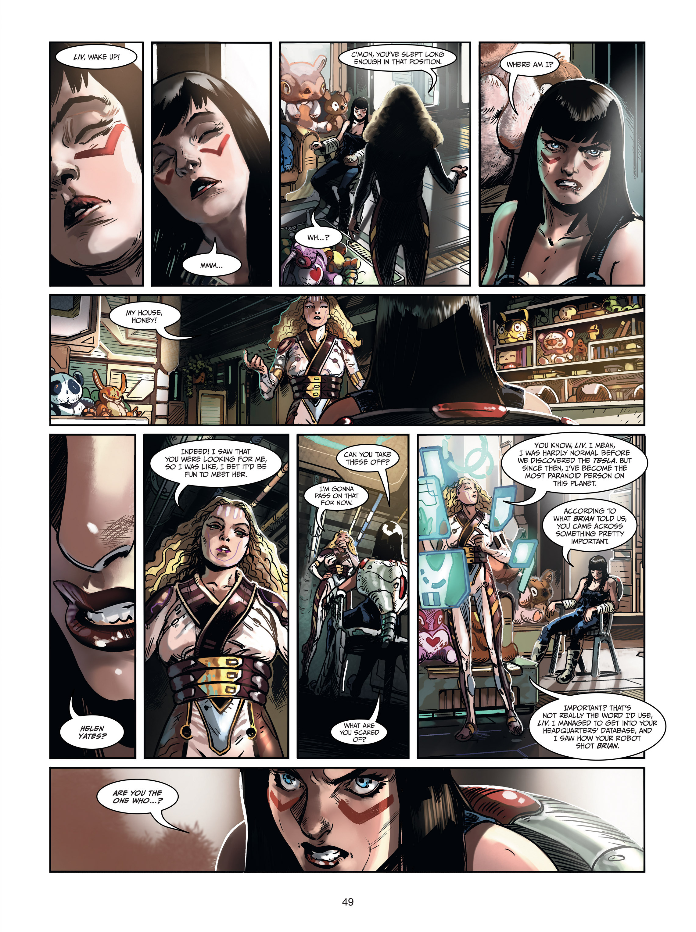 Read online Androïds comic -  Issue #1 - 47