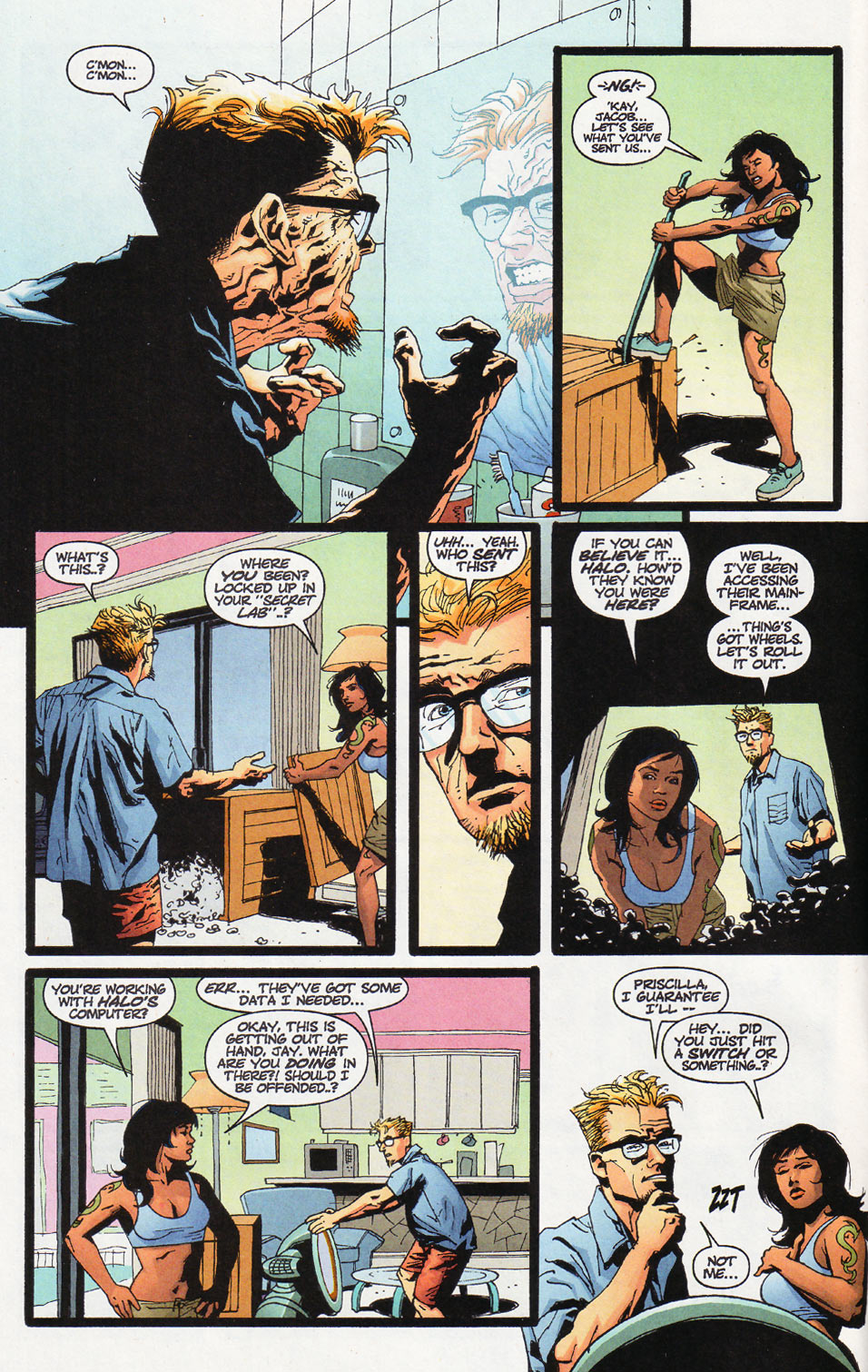 Wildcats (1999) Issue #12 #13 - English 3