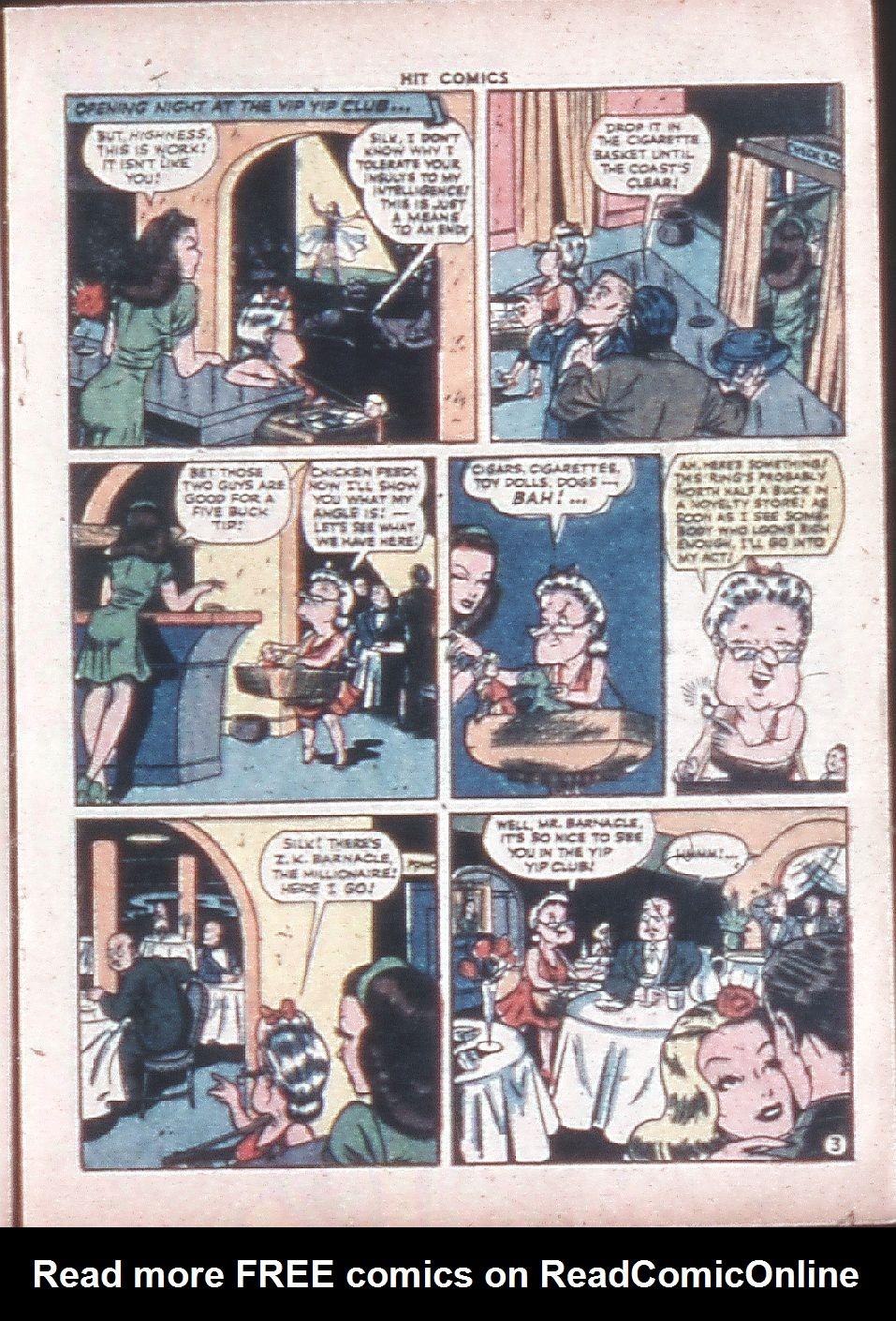 Read online Hit Comics comic -  Issue #36 - 27
