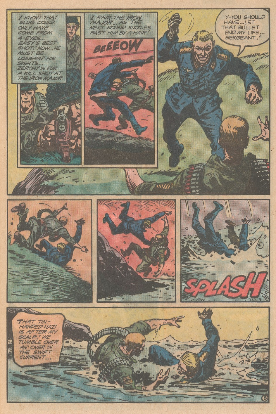 Read online Sgt. Rock comic -  Issue #345 - 6