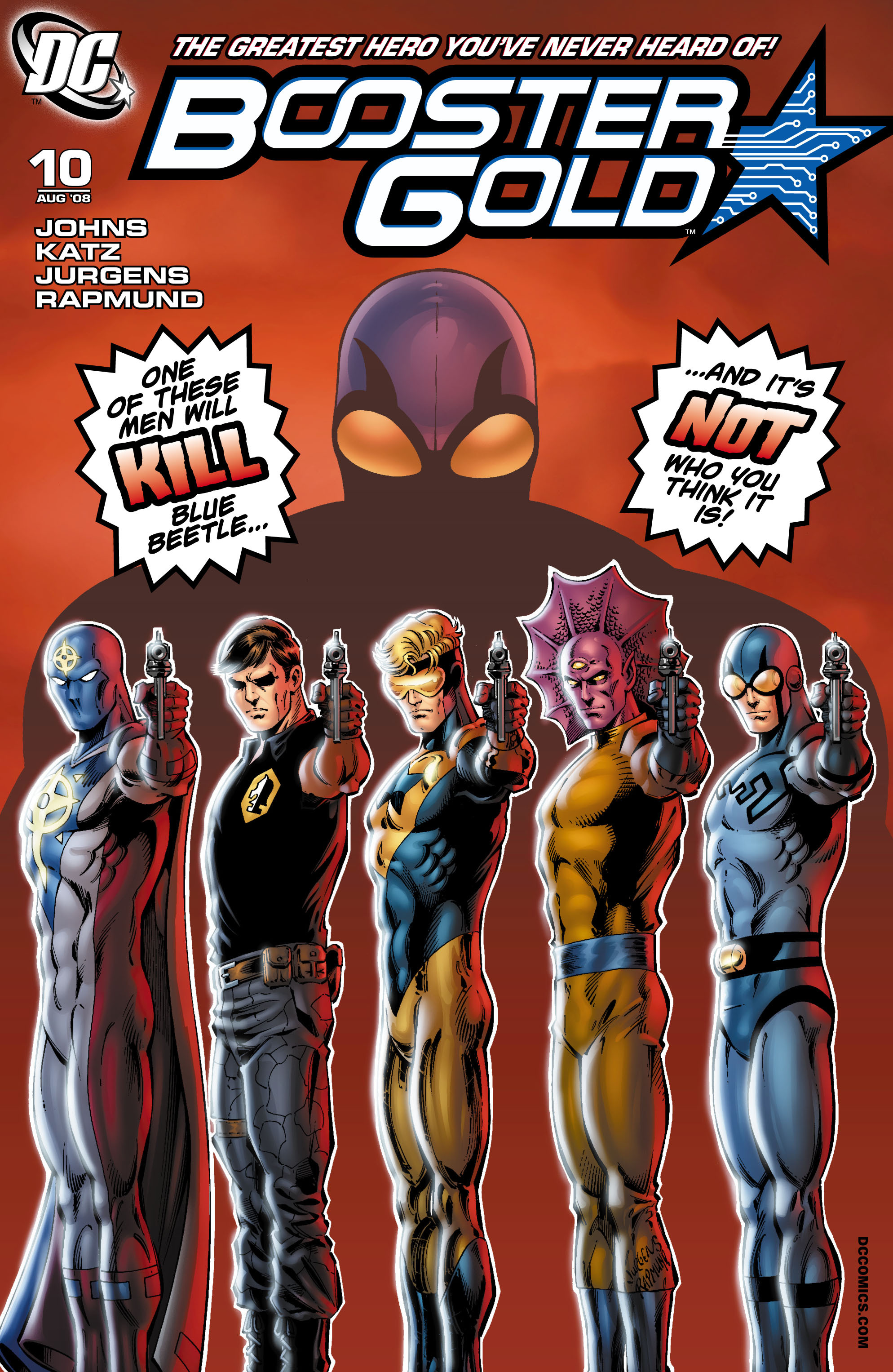 Booster Gold 2007 Issue 10