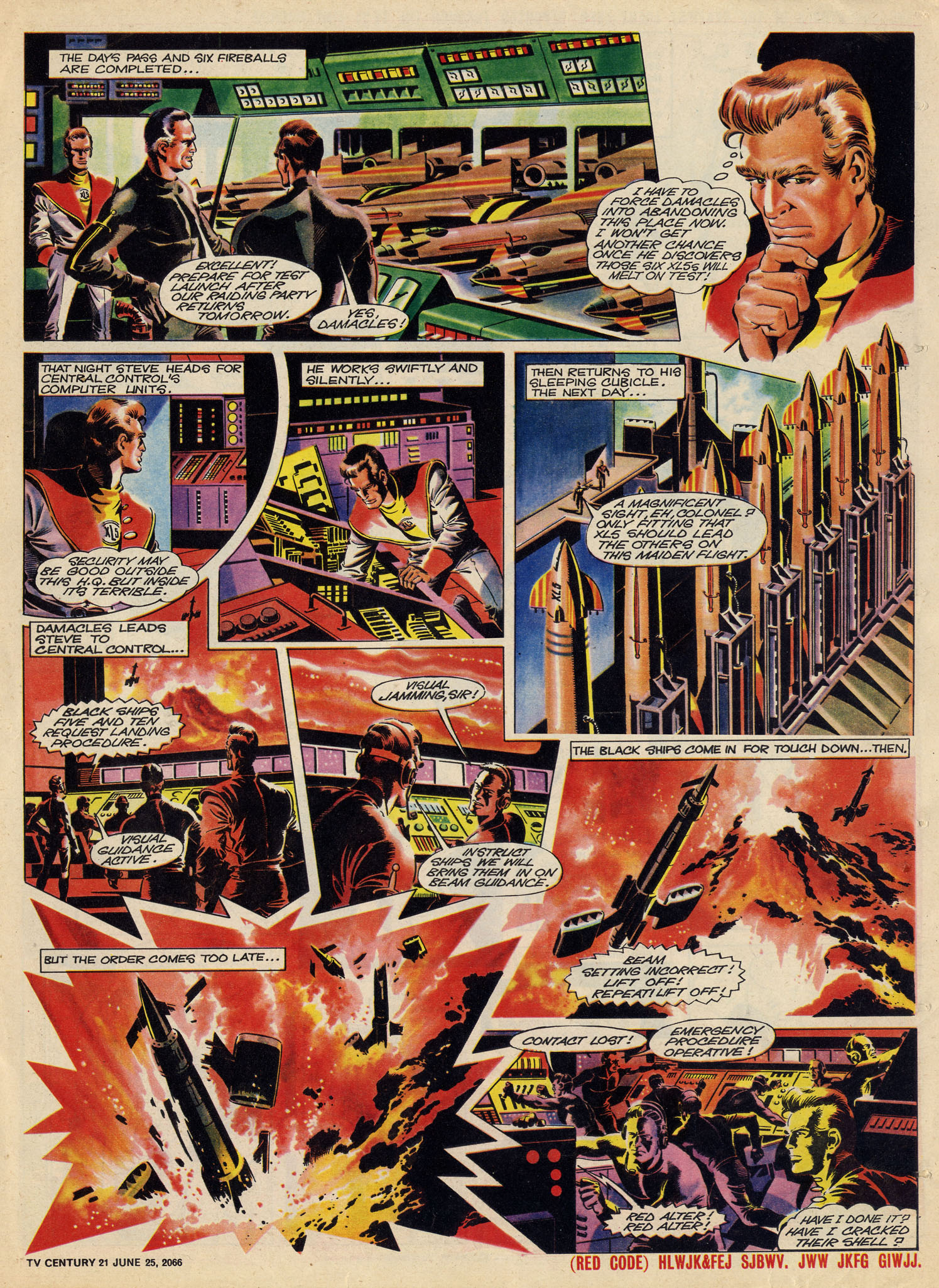 Read online TV Century 21 (TV 21) comic -  Issue #75 - 16