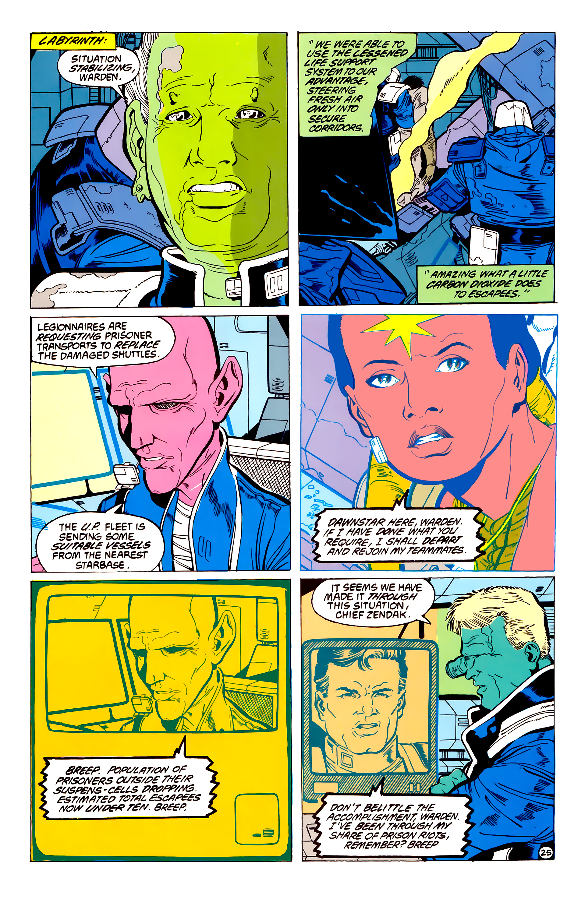 Legion of Super-Heroes (1984) 54 Page 25