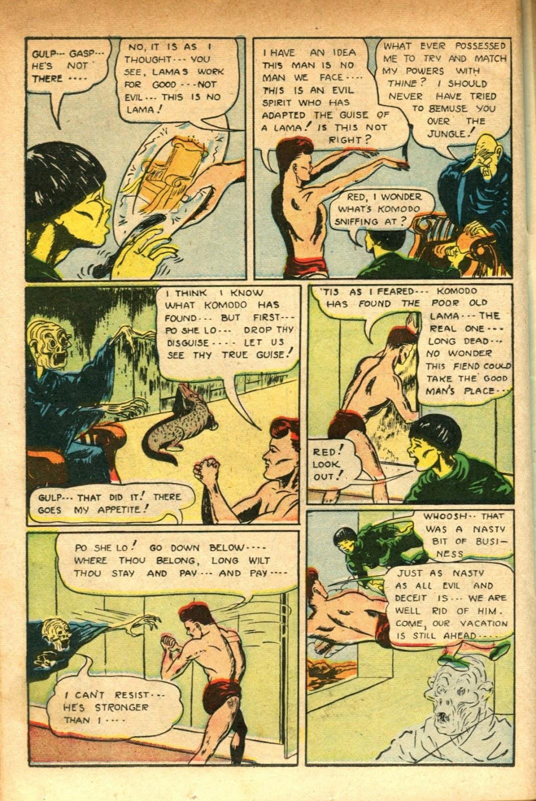Read online Super-Magician Comics comic -  Issue #51 - 34