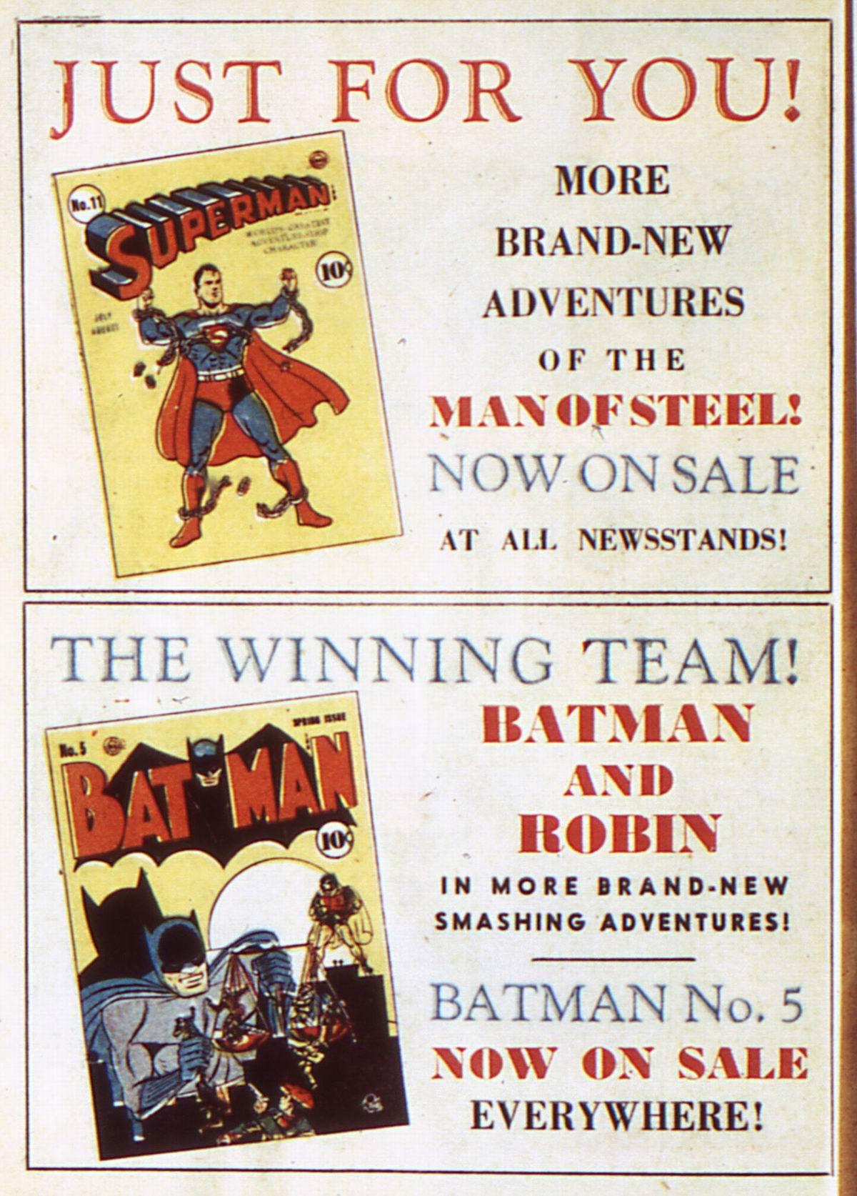 Read online Detective Comics (1937) comic -  Issue #52 - 16