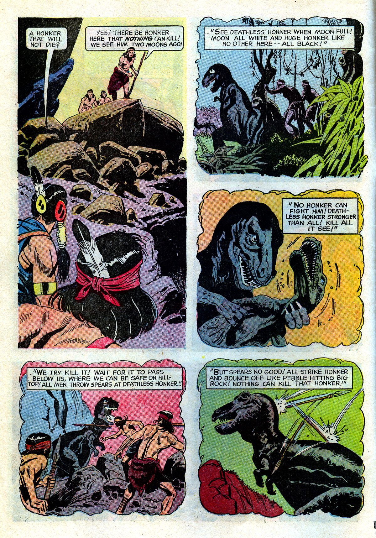 Read online Turok, Son of Stone comic -  Issue #72 - 6