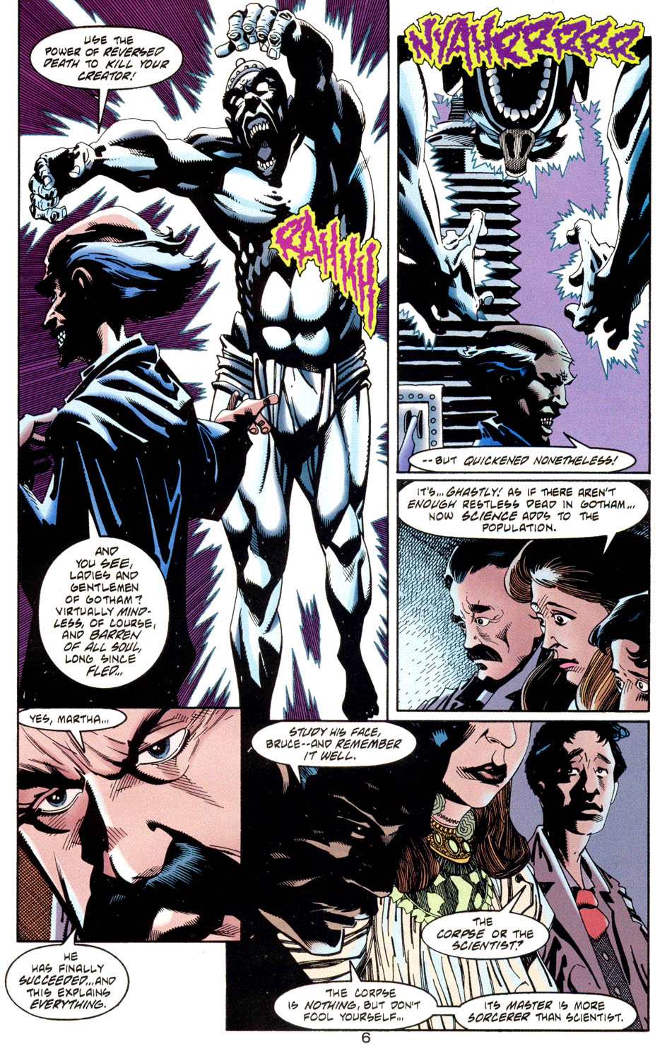 Read online Batman: Haunted Gotham comic -  Issue #1 - 8