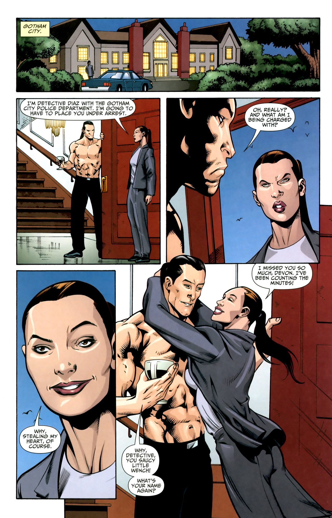 Read online Shadowpact comic -  Issue #18 - 19