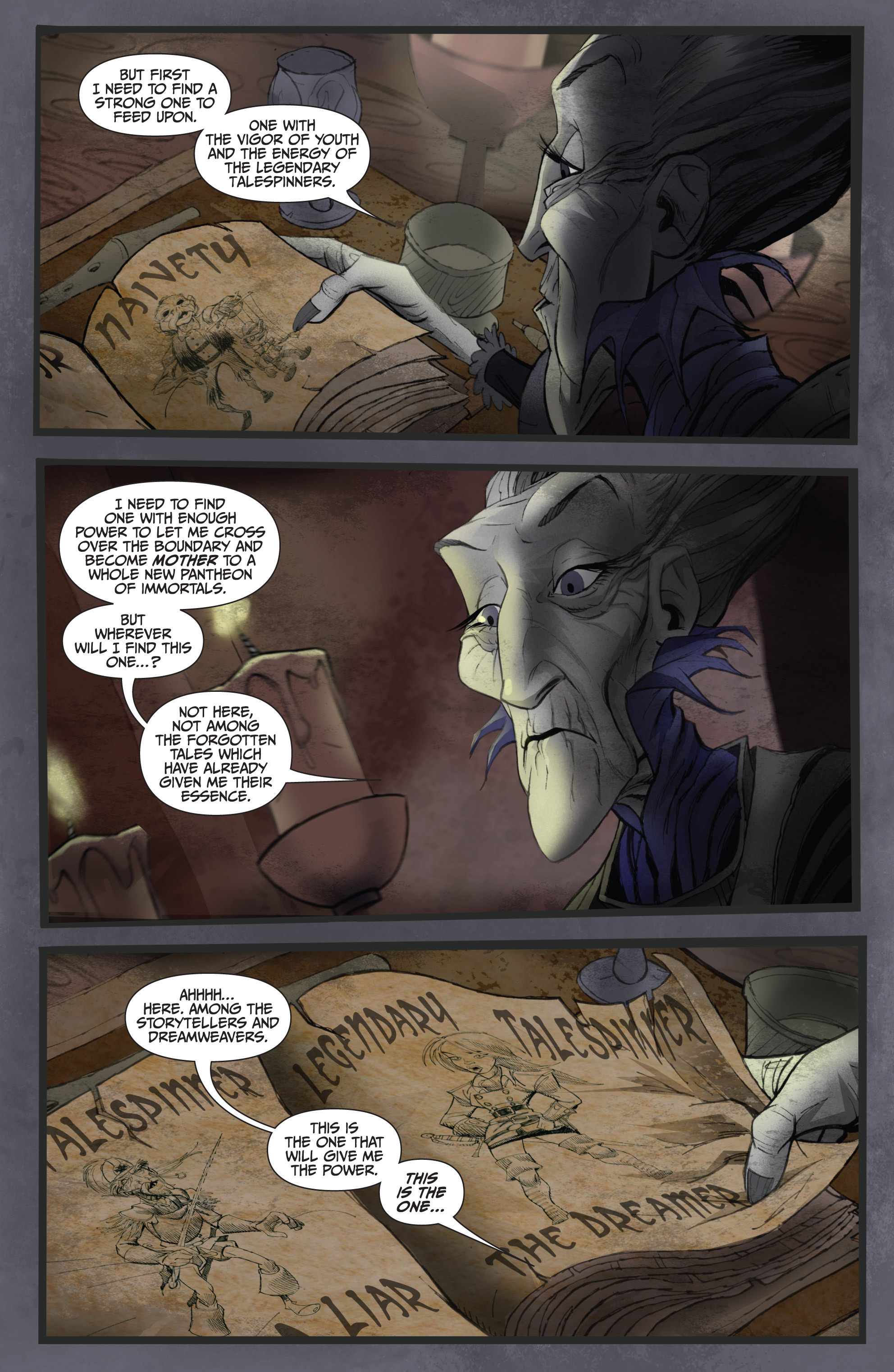 Read online Legendary Talespinners comic -  Issue #1 - 10